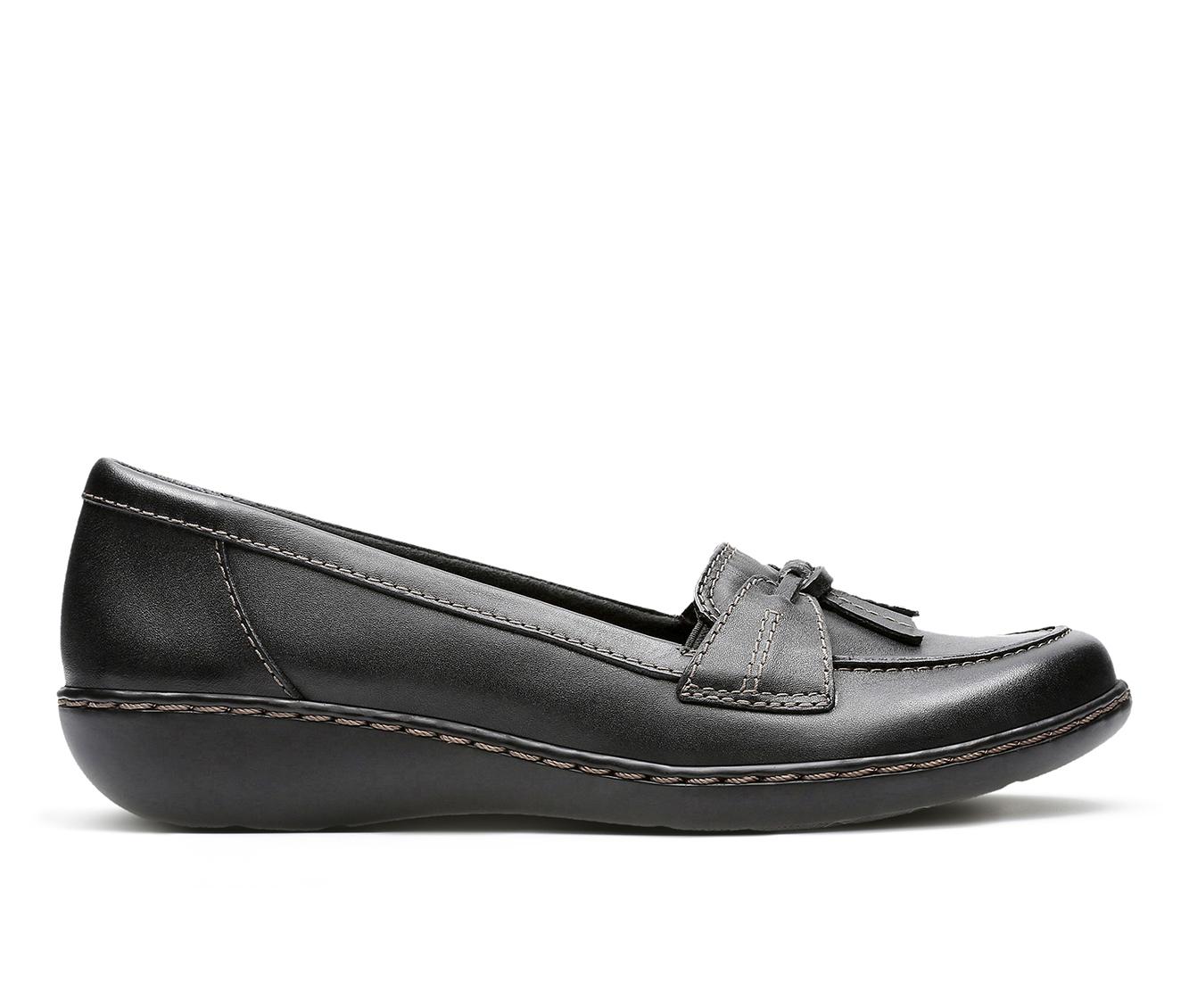 Clarks Ashland  Bubble Women's Shoe (Black Leather)