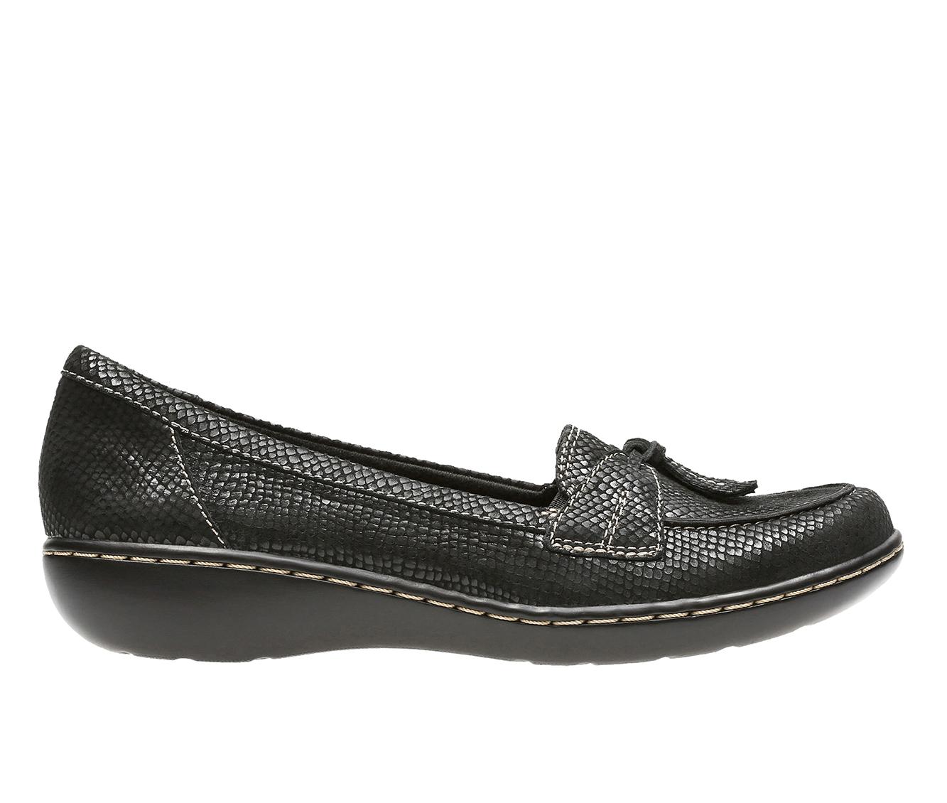 Clarks Ashland  Bubble Women's Shoe (Black Suede)
