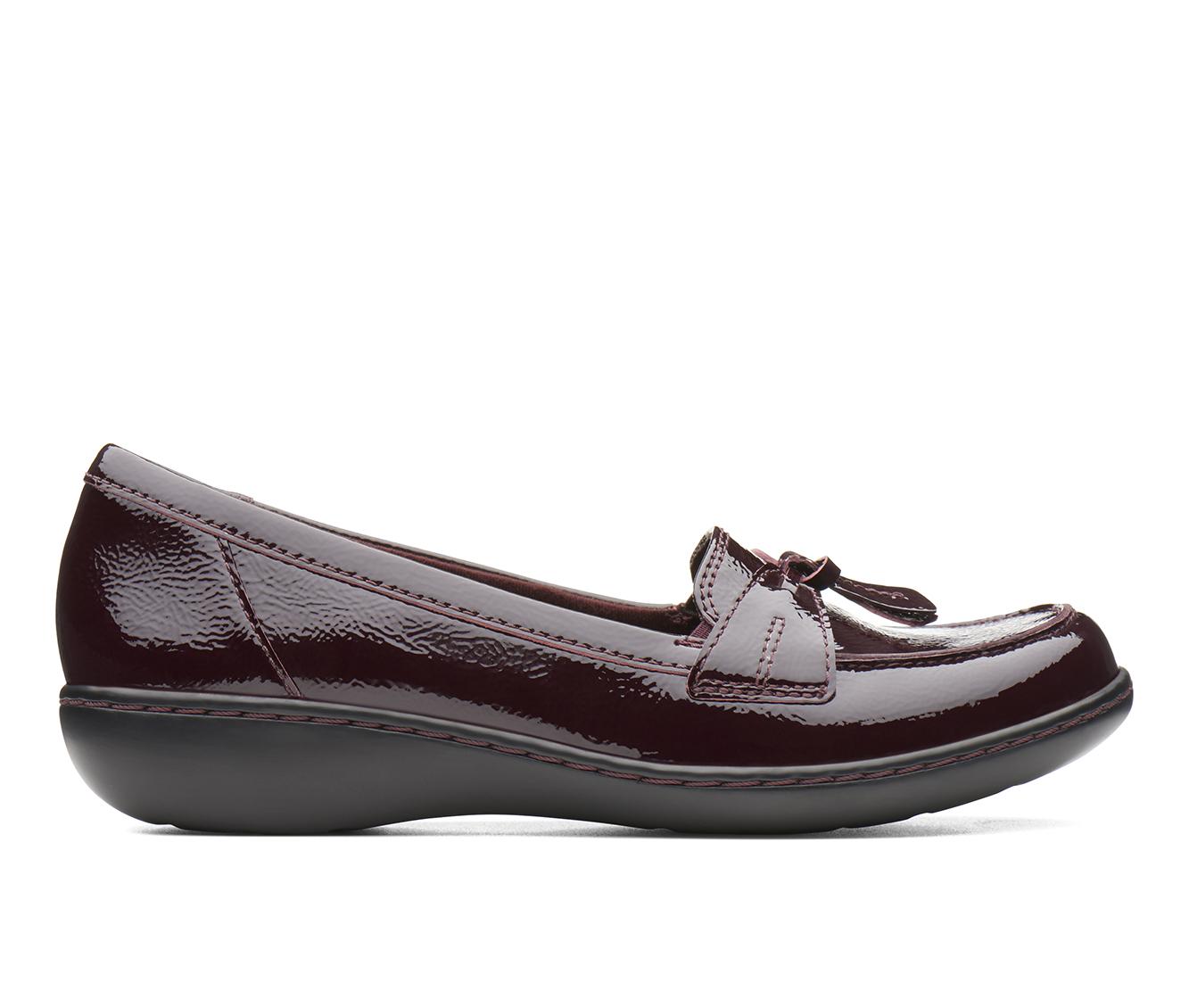 Clarks Ashland  Bubble Women's Shoe (Red Leather)