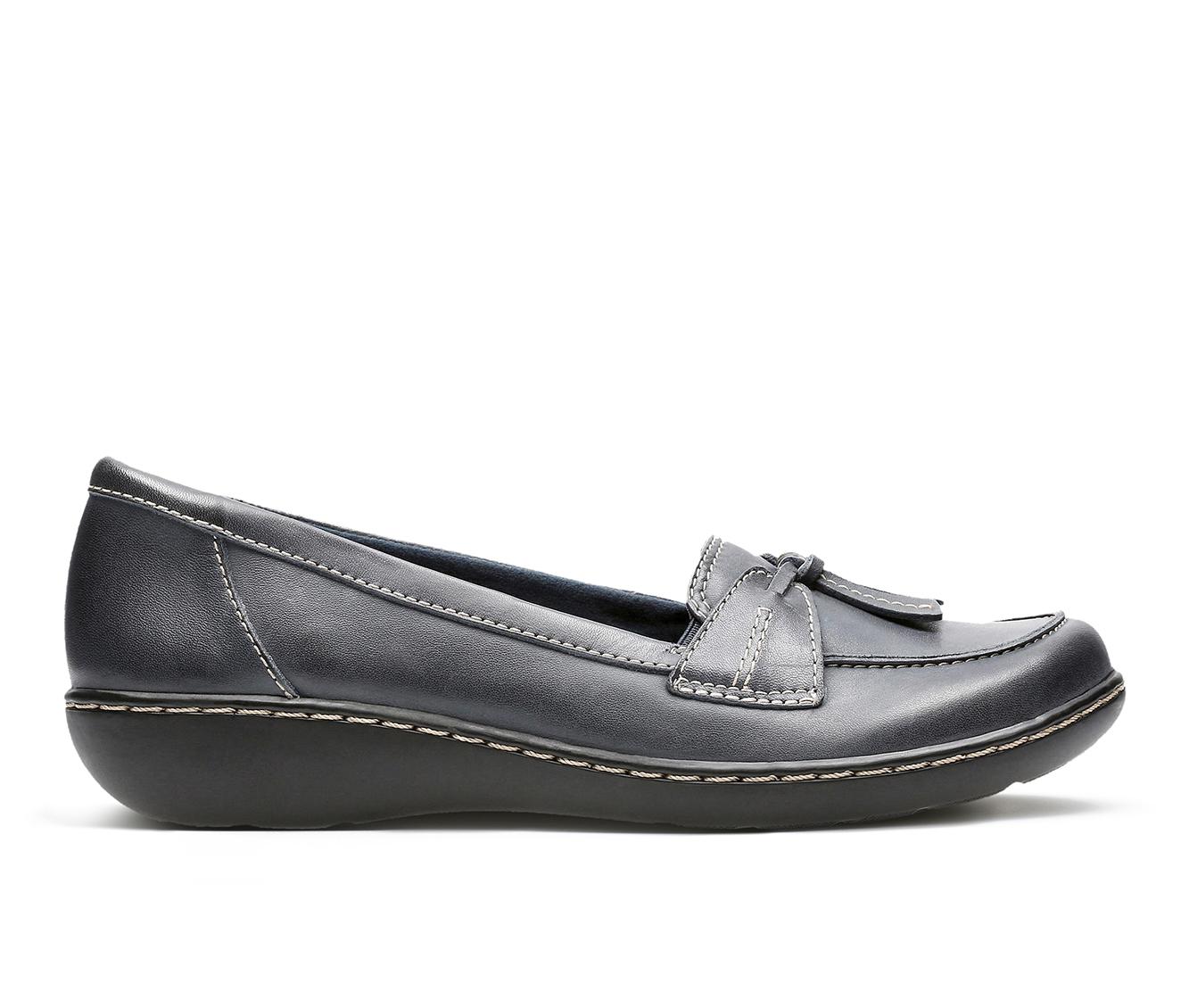 Clarks Ashland  Bubble Women's Shoe (Blue Leather)