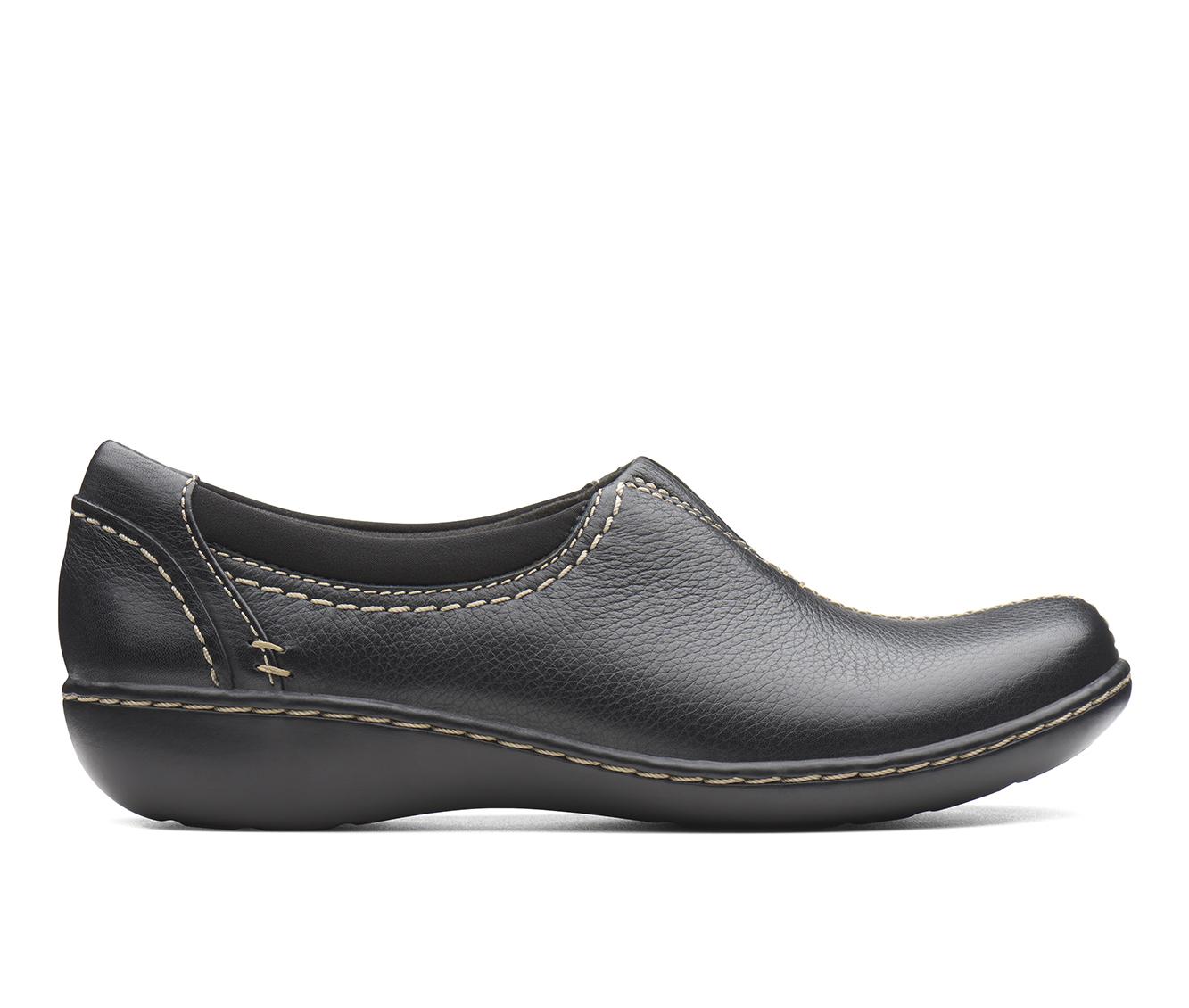 Clarks Ashland Joy Women's Shoe (Black Leather)
