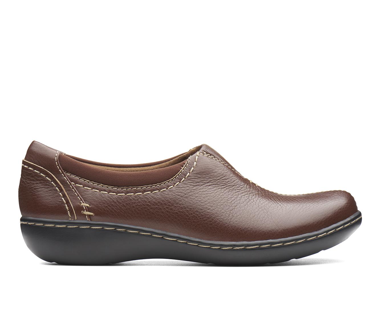 Clarks Ashland Joy Women's Shoe (Brown Leather)