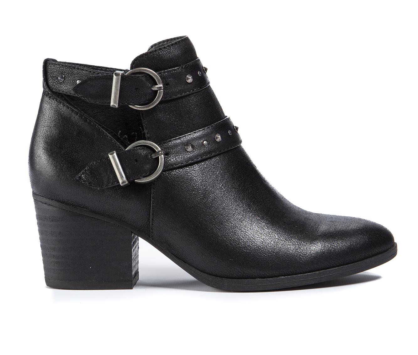 Baretraps Noralie Women's Boot (Black Canvas)