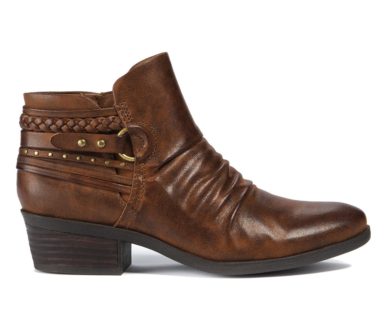 Baretraps Galvin Women's Boot (Brown Canvas)