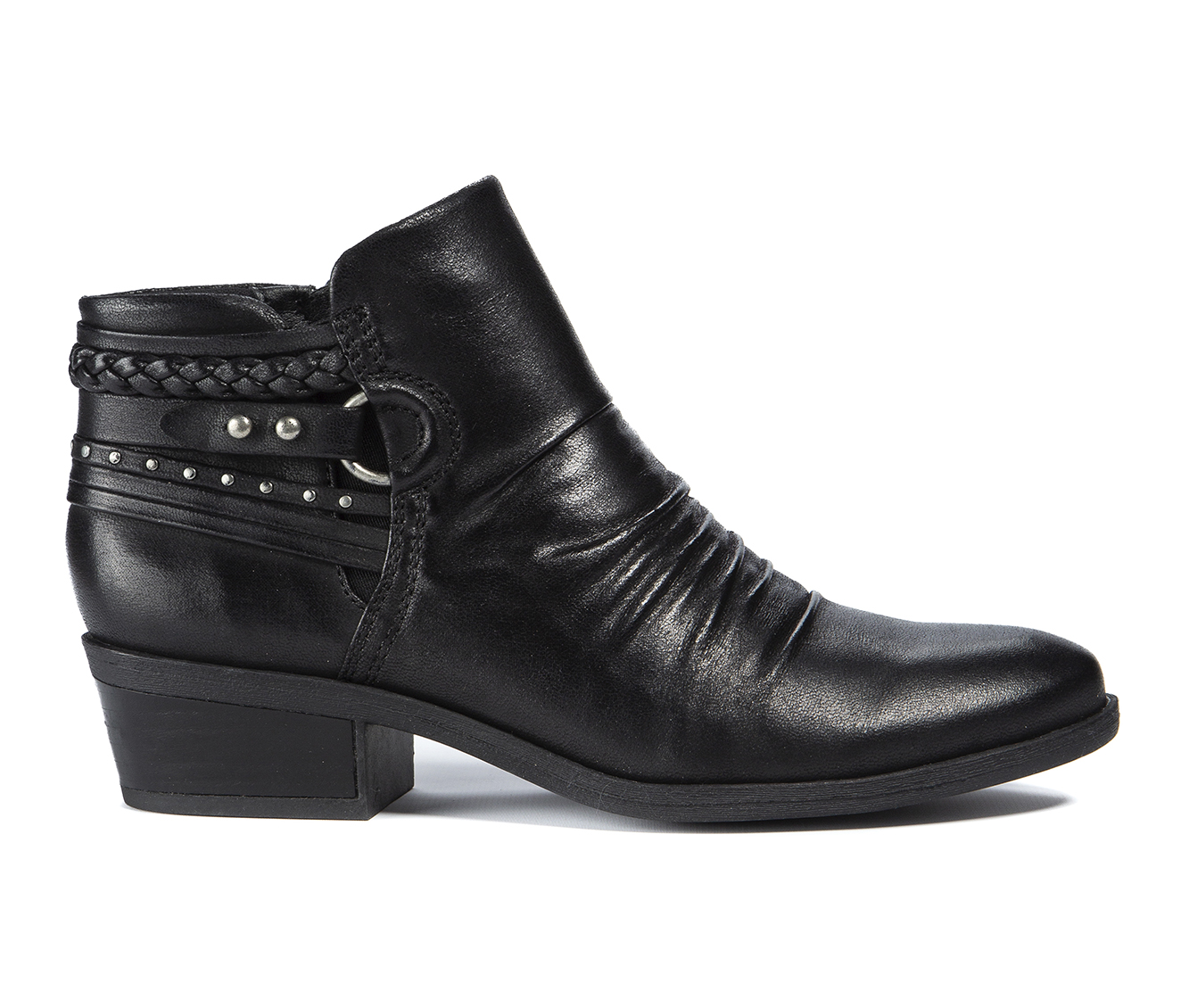 Baretraps Galvin Women's Boot (Black Canvas)