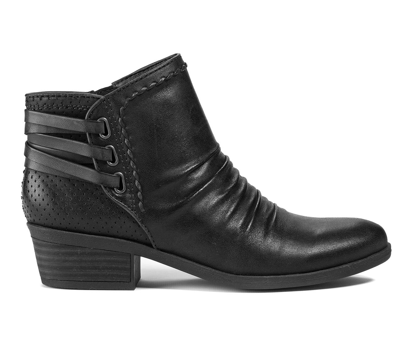 Baretraps Gineva Women's Boot (Black Canvas)