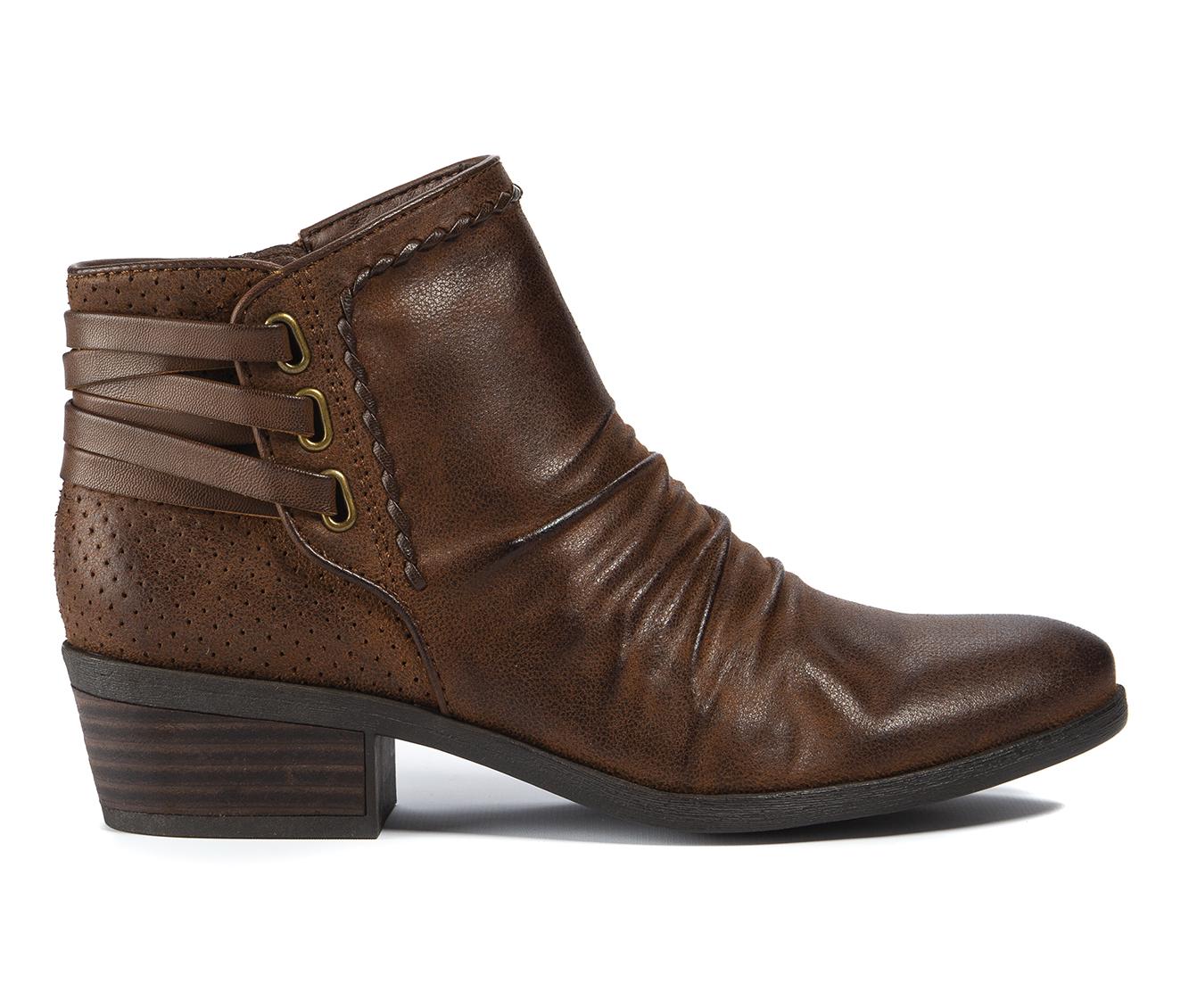 Baretraps Gineva Women's Boot (Brown Canvas)