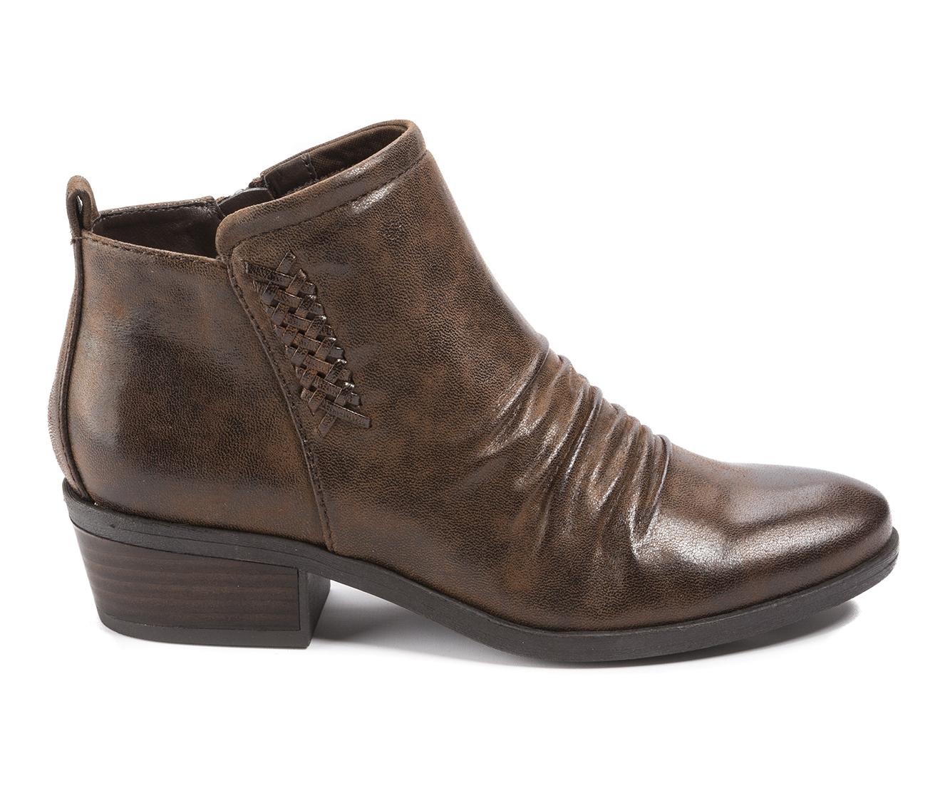 Baretraps Grafton Women's Boot (Brown Canvas)