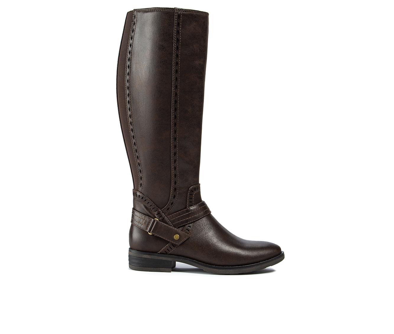 Baretraps Abram Women's Boot (Brown Canvas)