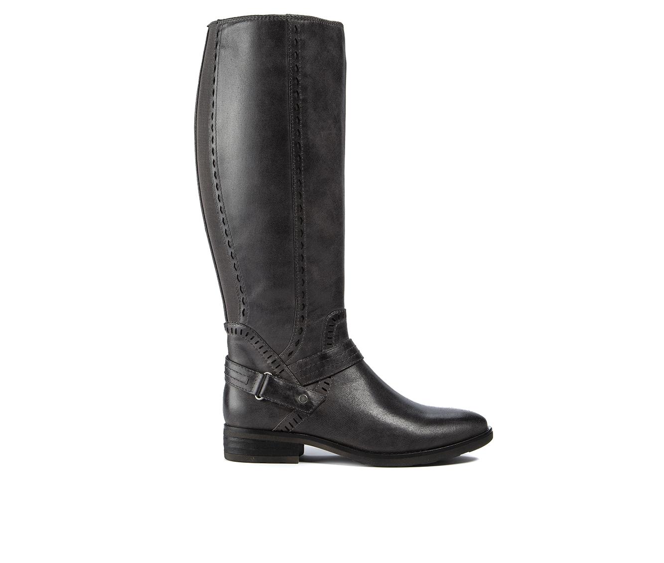 Baretraps Abram Women's Boot (Gray Canvas)
