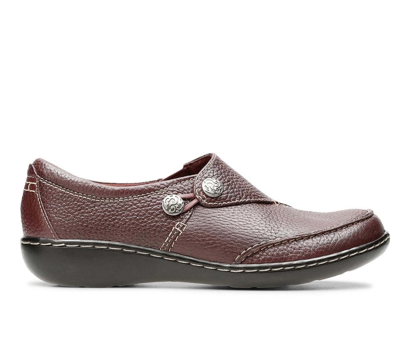 Clarks Ashland Lane Q Women's Shoe (Red Leather)