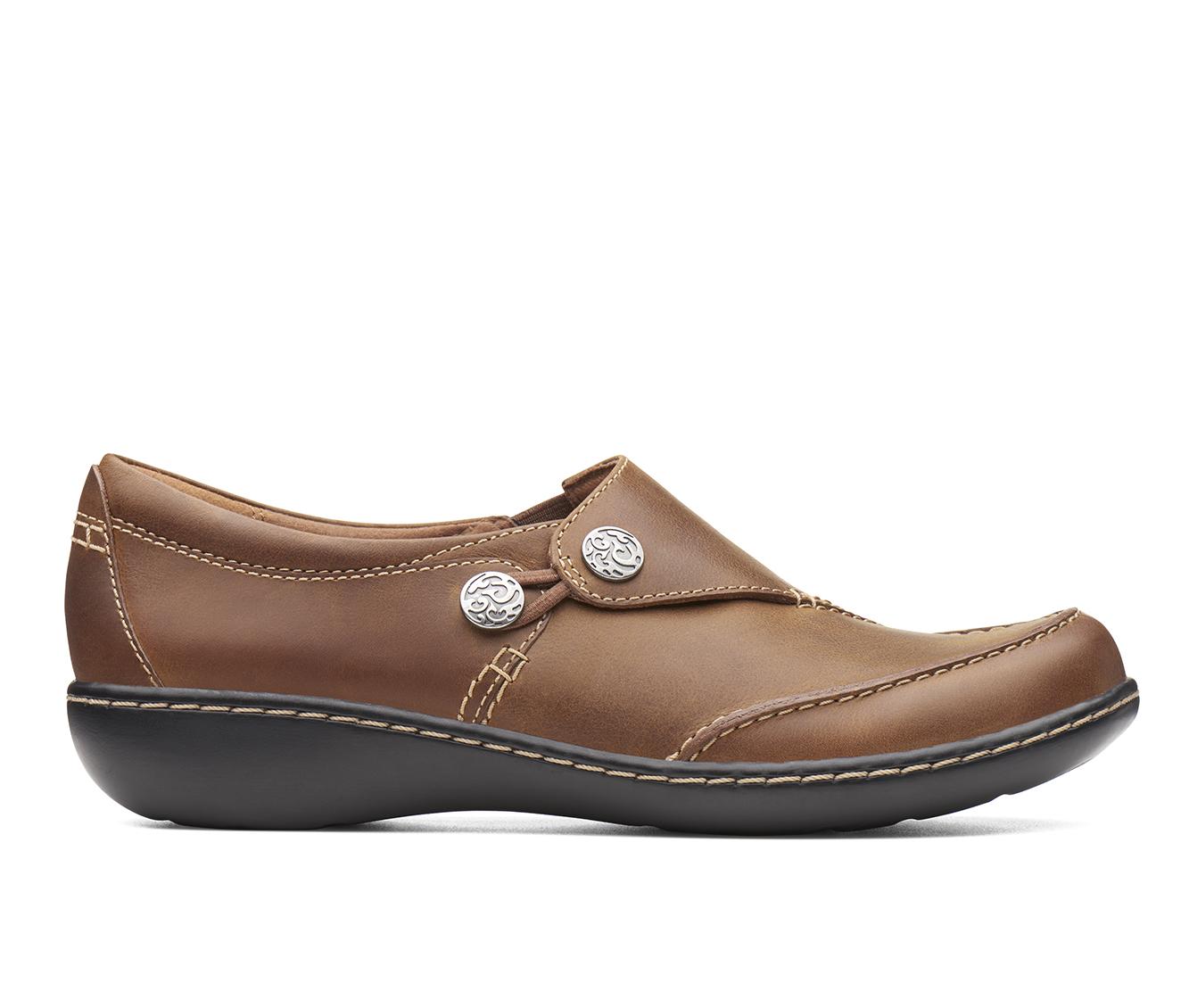 Clarks Ashland Lane Q Women's Shoe (Brown Leather)