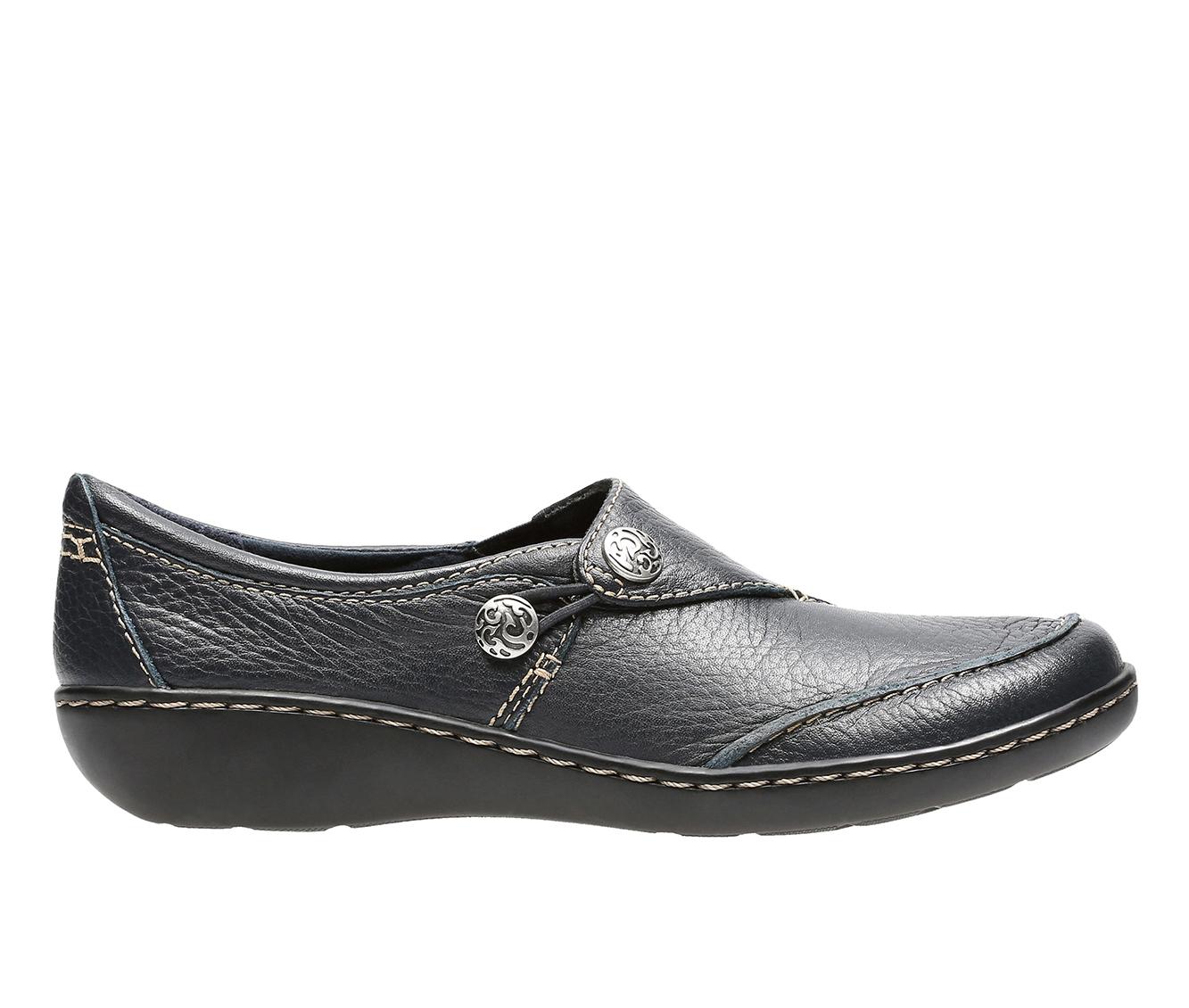 Clarks Ashland Lane Q Women's Shoe (Blue Leather)