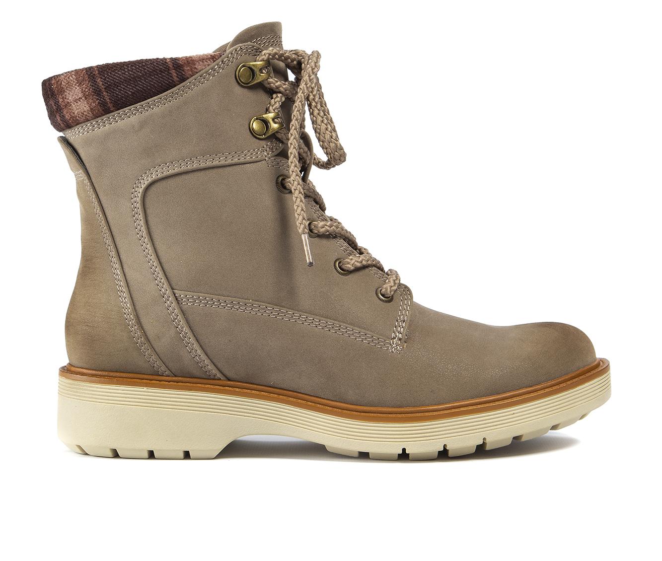 Baretraps Adams Women's Boot (Brown Canvas)