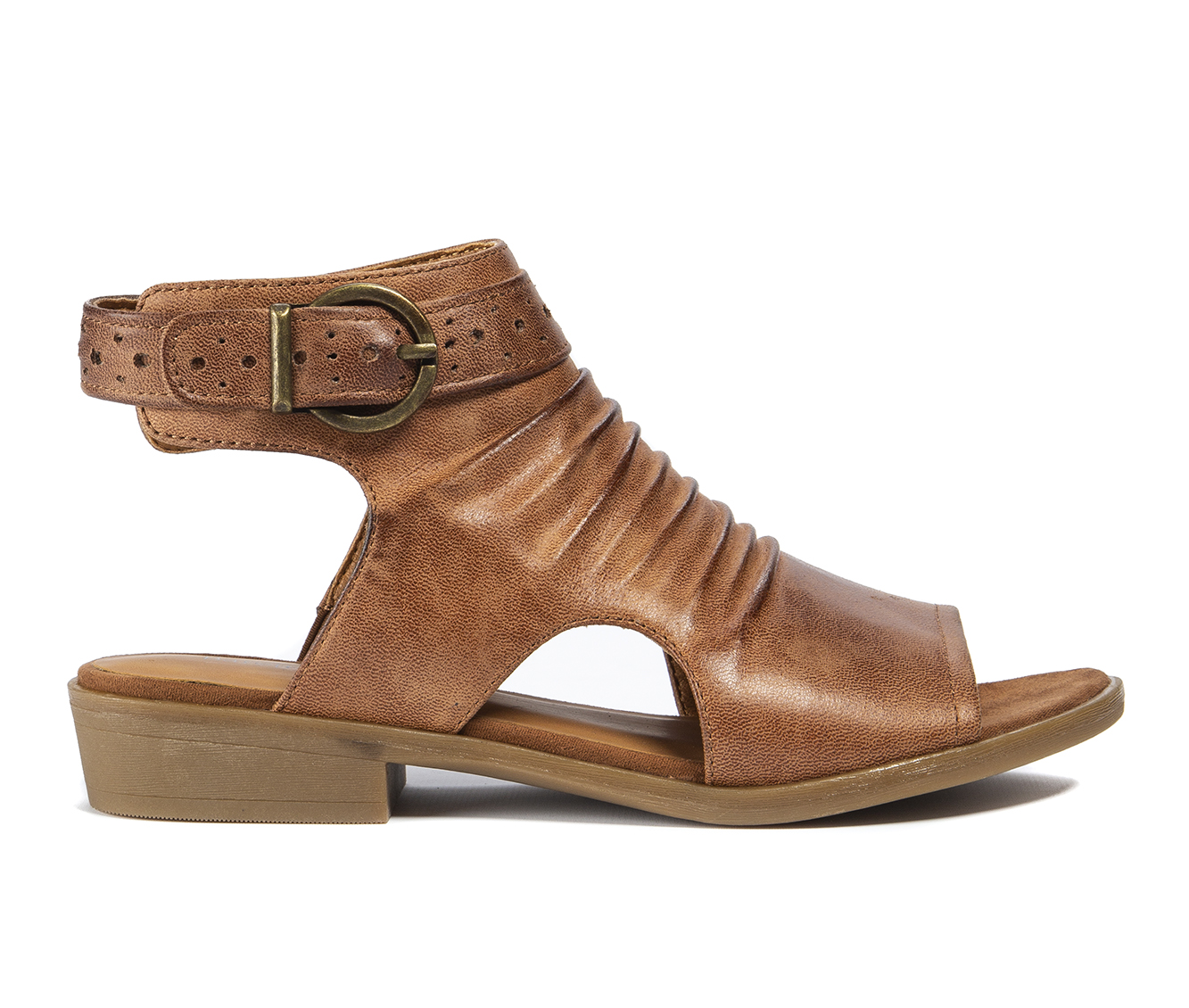 Baretraps Sheridyn Women's Sandal (Brown Faux Leather)