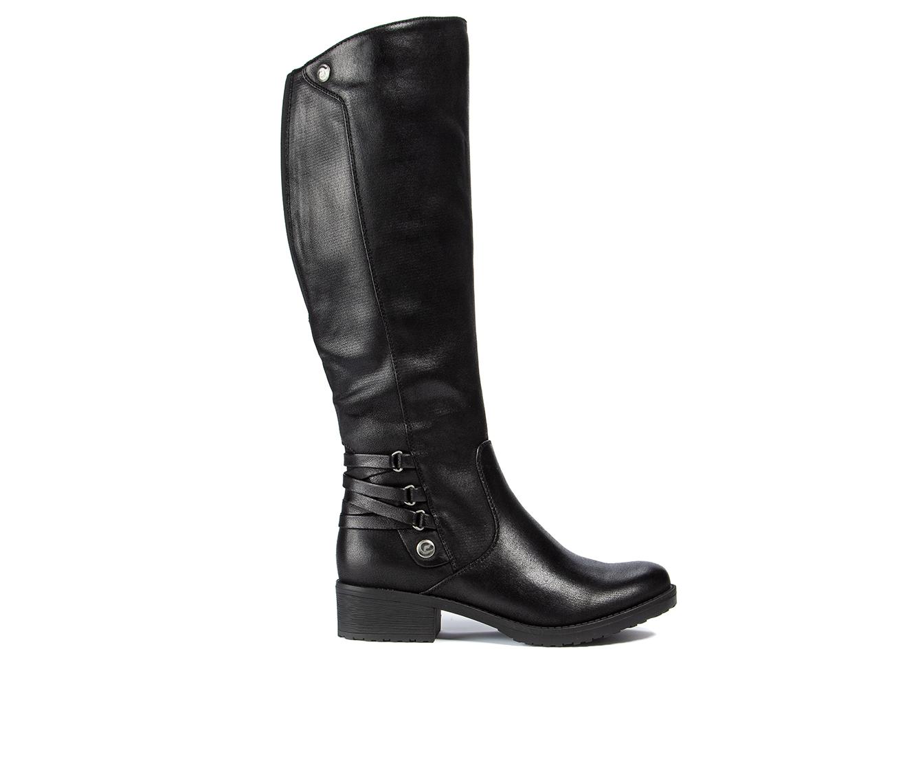 Baretraps Ornella Women's Boot (Black Canvas)