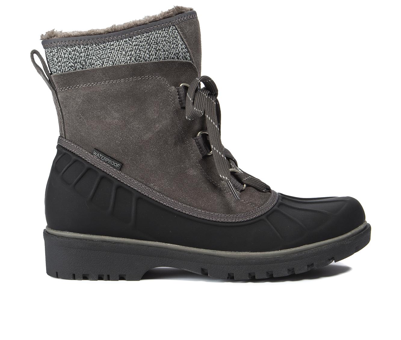 Baretraps Springer Women's Boot (Gray Leather)
