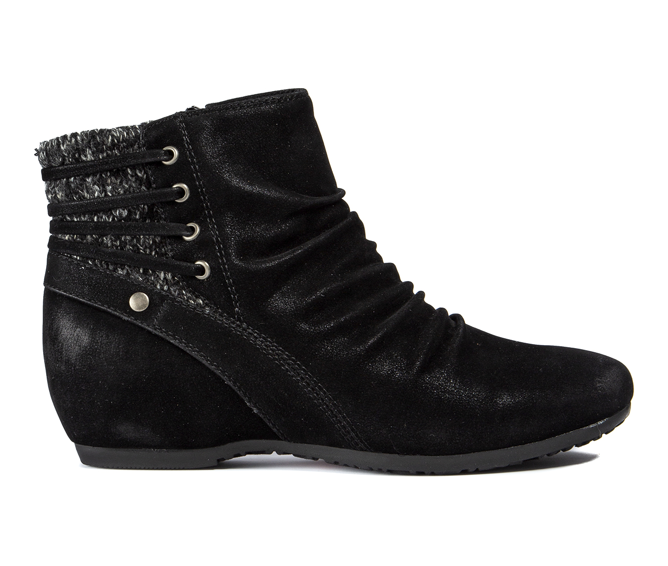 Baretraps Peanut Women's Boot (Black Canvas)