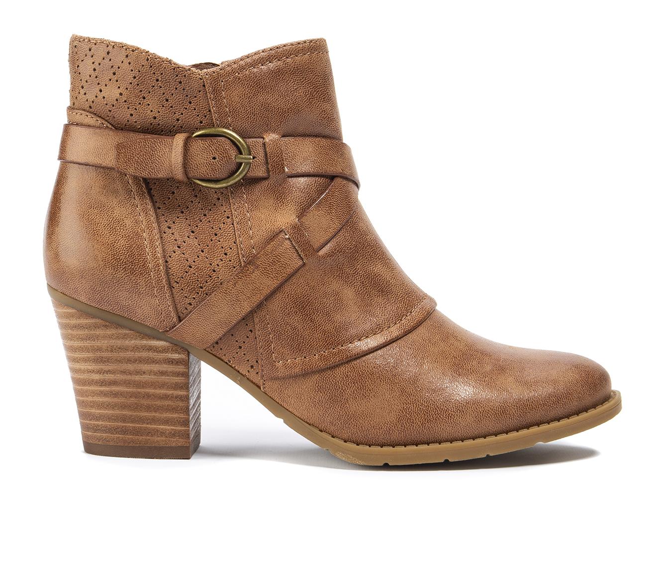 Baretraps Luana Women's Boot (Brown Canvas)