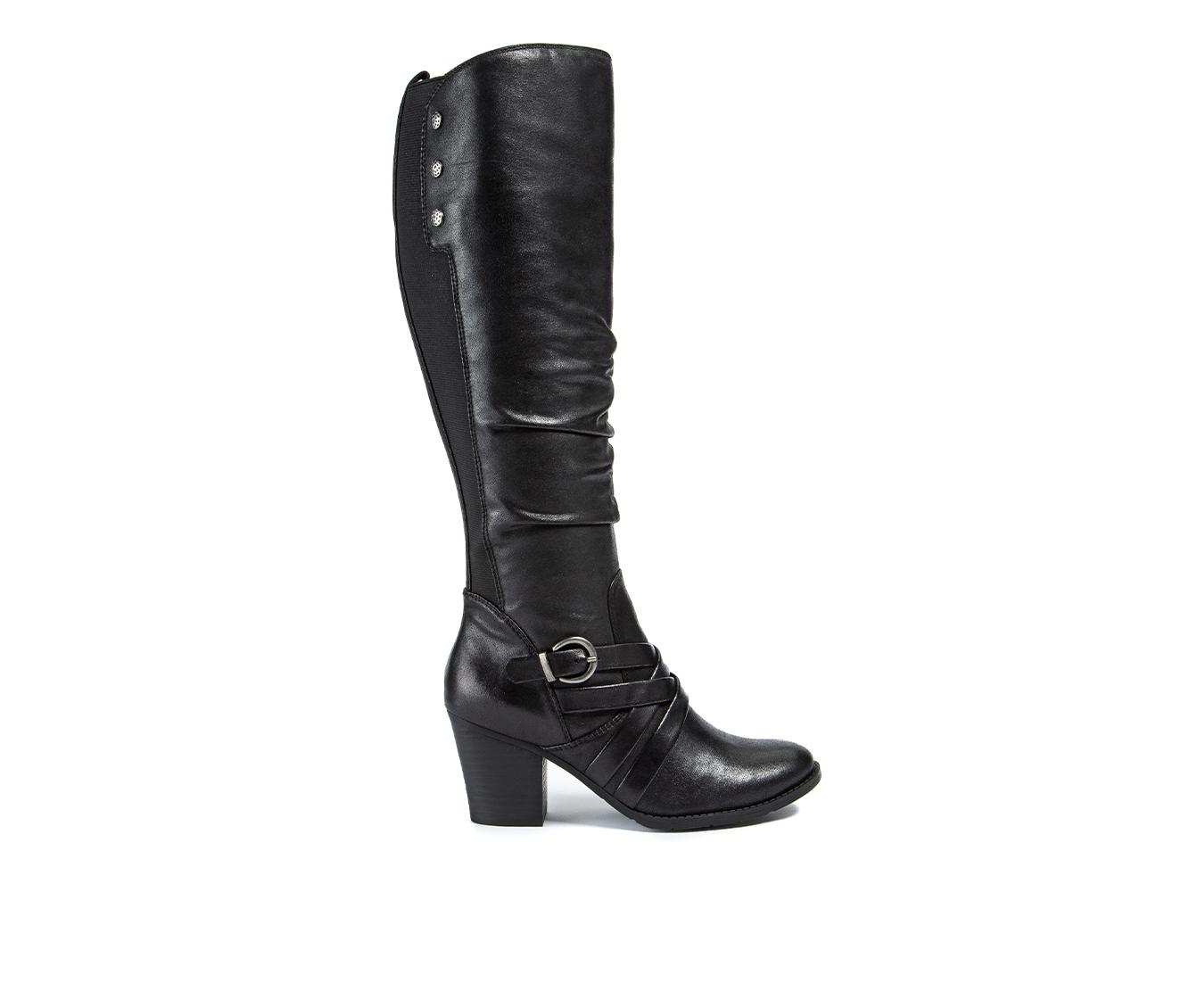 Baretraps Lenora Women's Boot (Black Canvas)