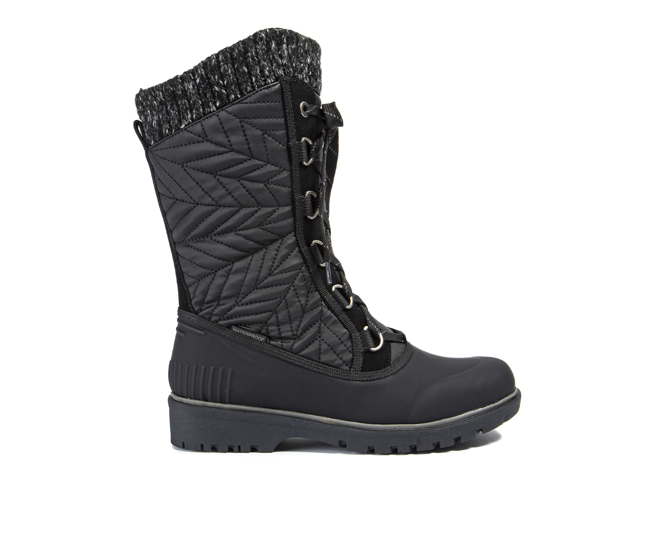Baretraps Stark Women's Boot (Black Faux Leather)