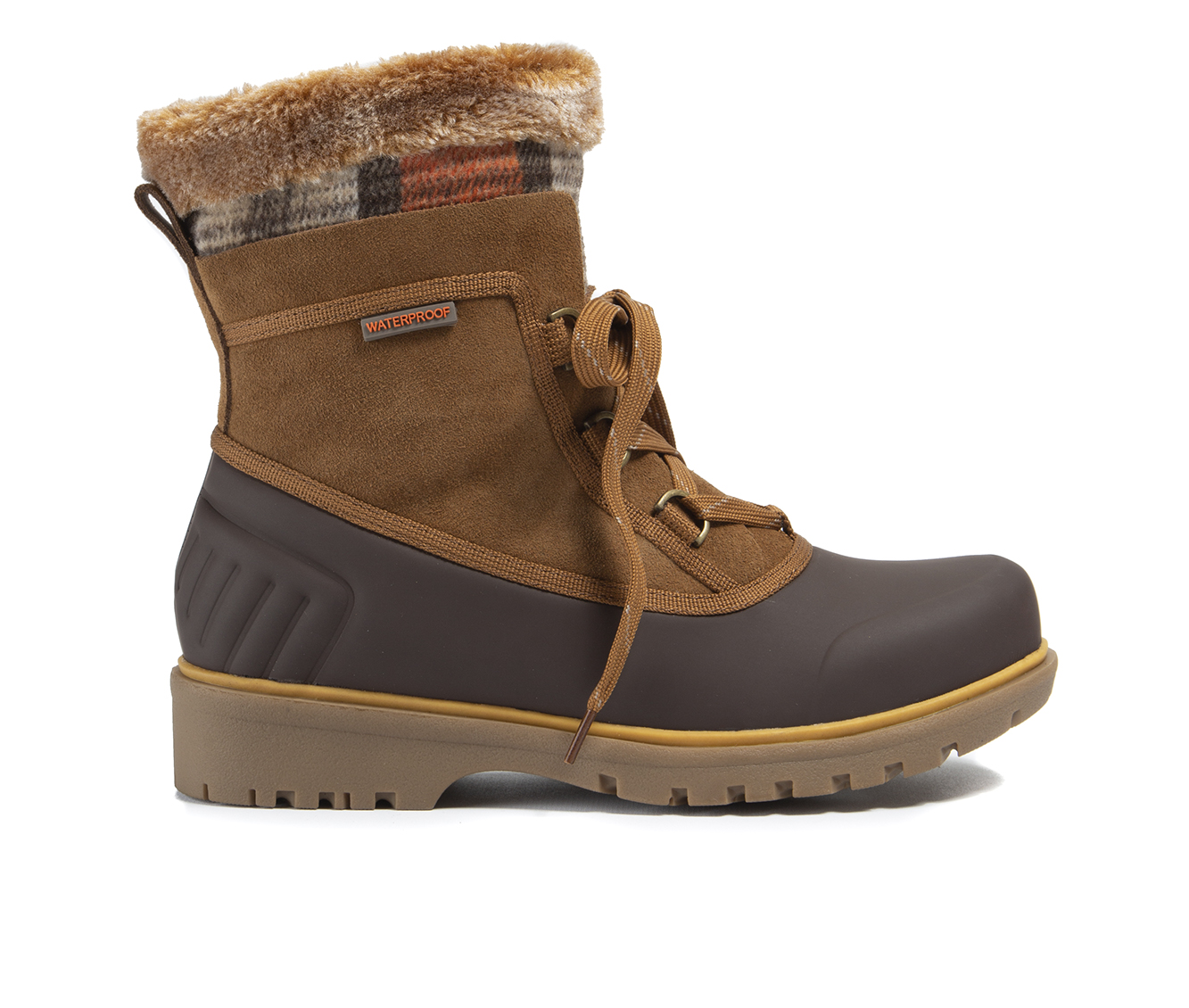 Baretraps Shai Women's Boot (Brown Faux Leather)