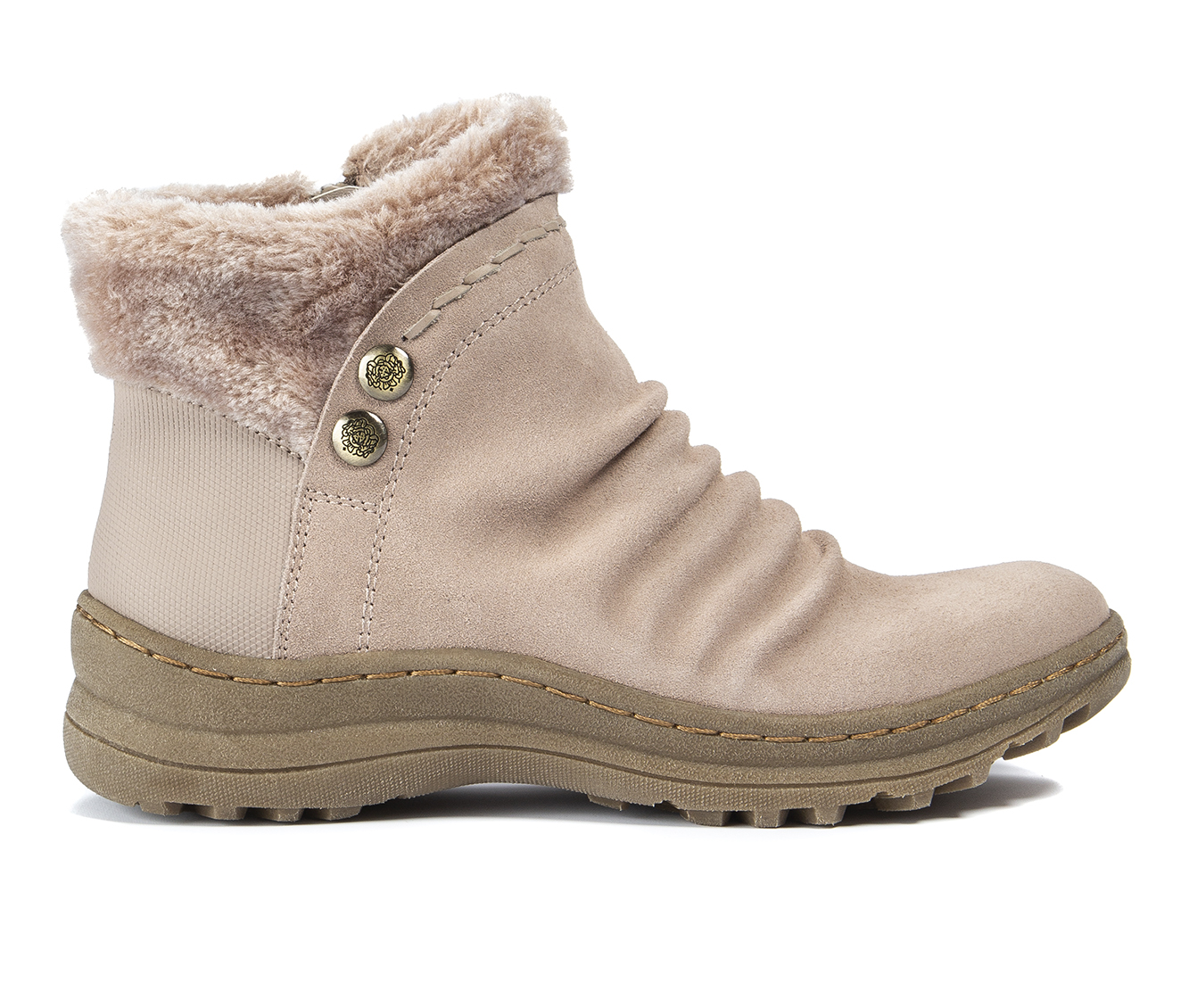 Baretraps Alick Women's Boot (Beige Leather)