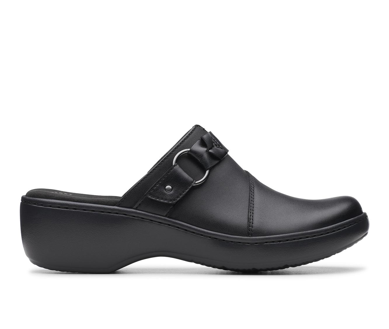 Clarks Delana Misty Women's Shoe (Black Leather)