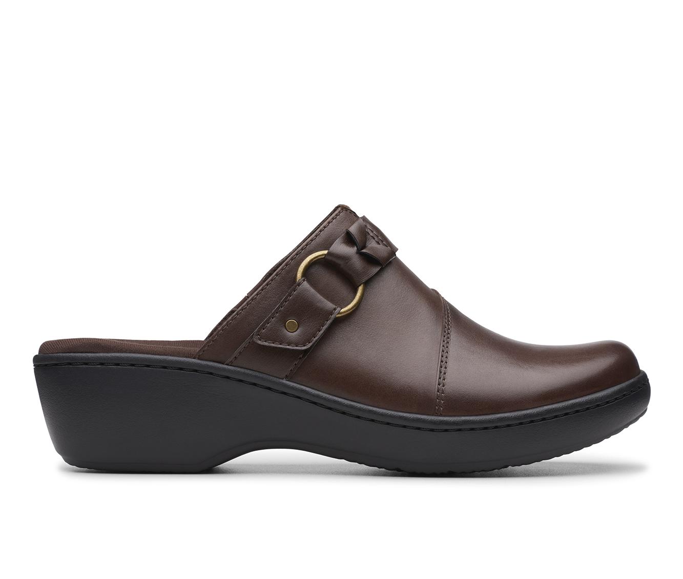 Clarks Delana Misty Women's Shoe (Brown Leather)