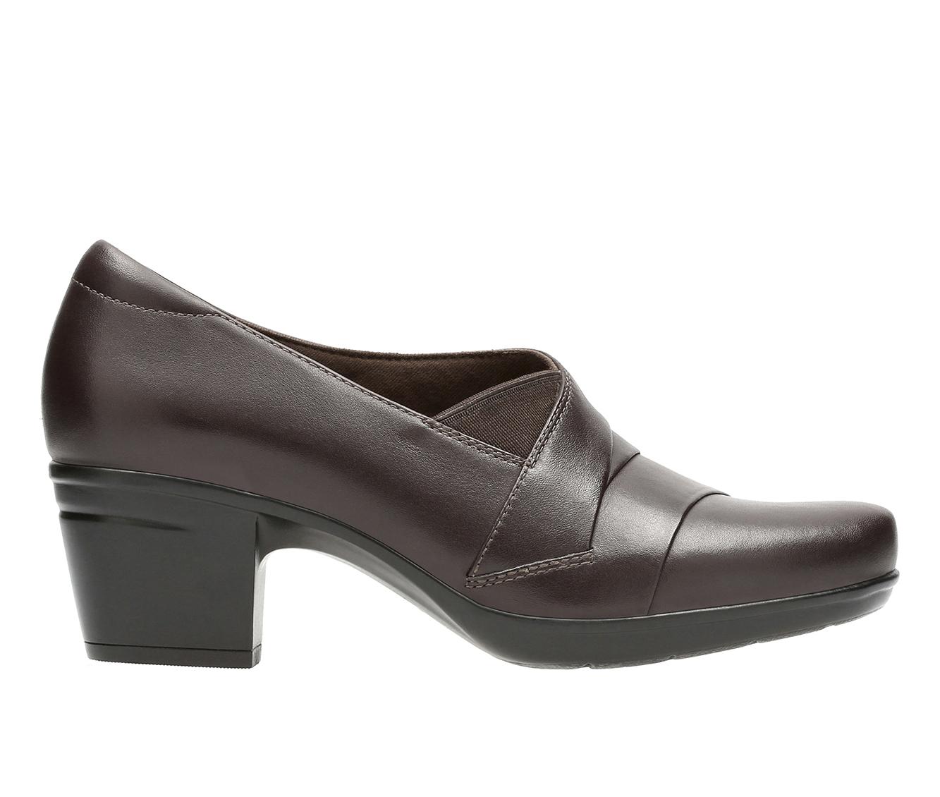 Clarks Emslie Warbler Women's Shoe (Beige Leather)