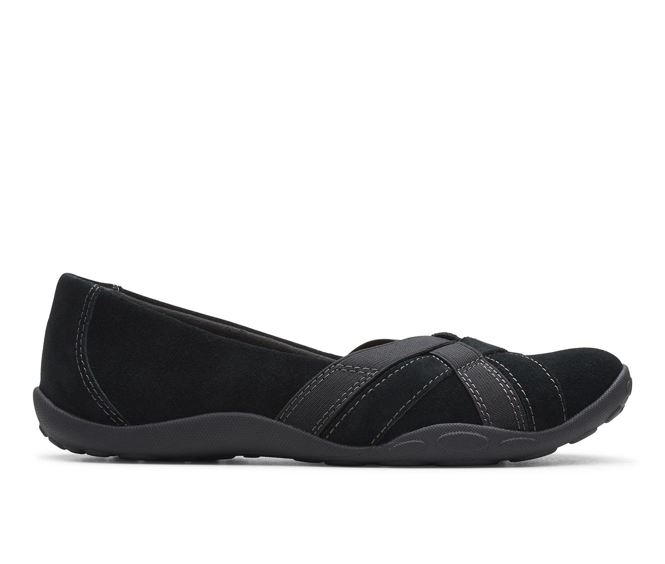 Clarks Haley Jay Women's Shoe (Black Suede)