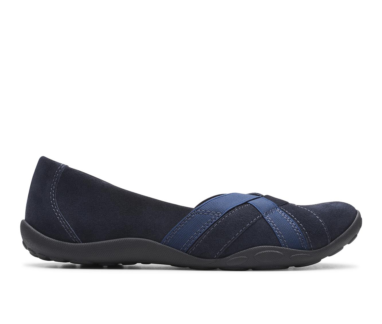 Clarks Haley Jay Women's Shoe (Blue Suede)