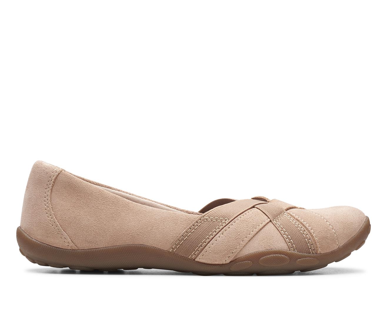 Clarks Haley Jay Women's Shoe (Brown Suede)