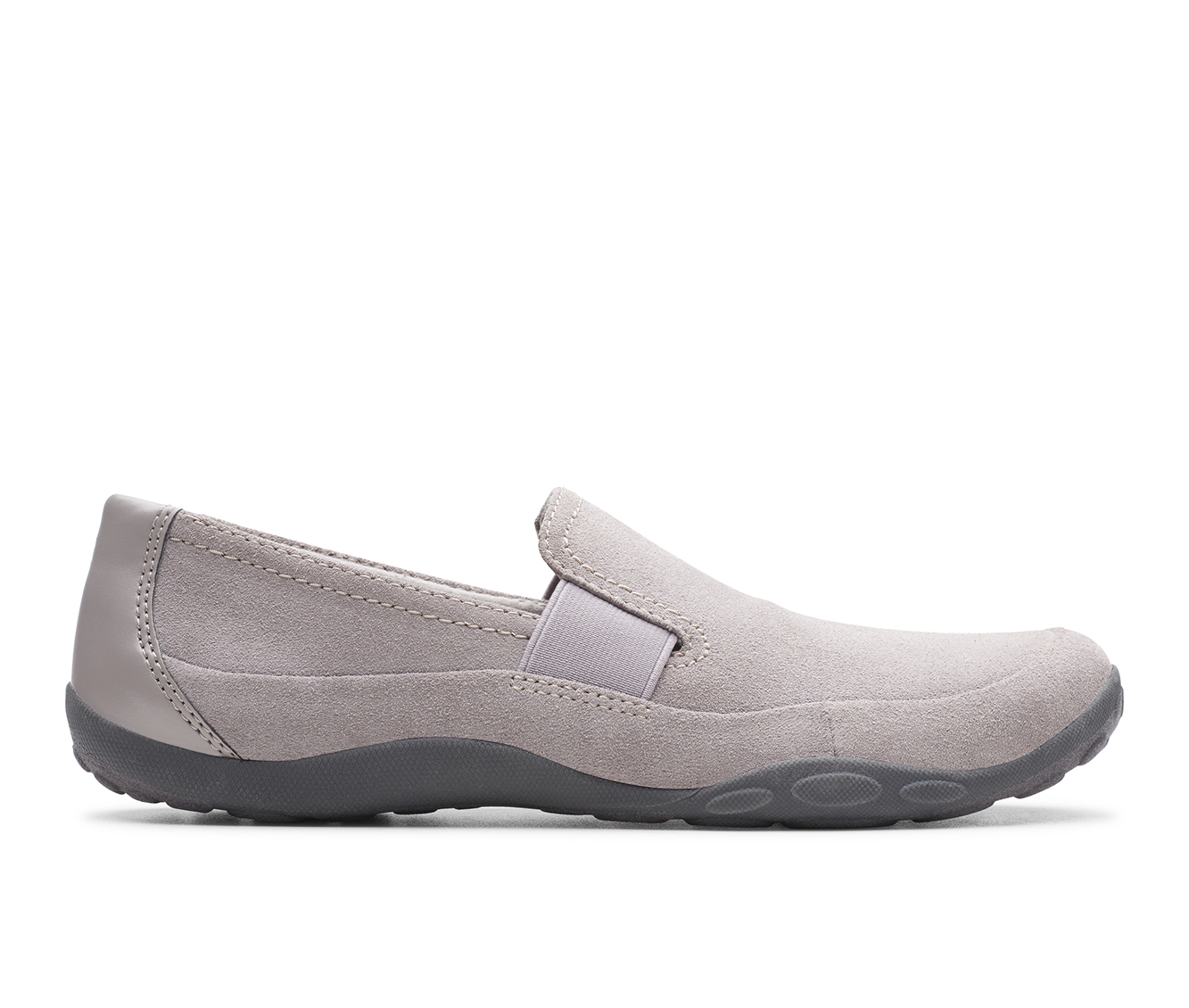 Clarks Haley Park Women's Shoe (Gray Suede)