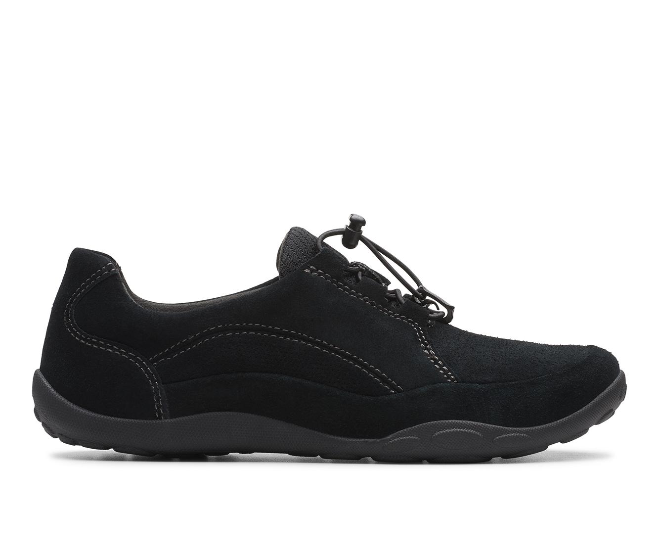 Clarks Haley Rhea Women's Shoe (Black Suede)