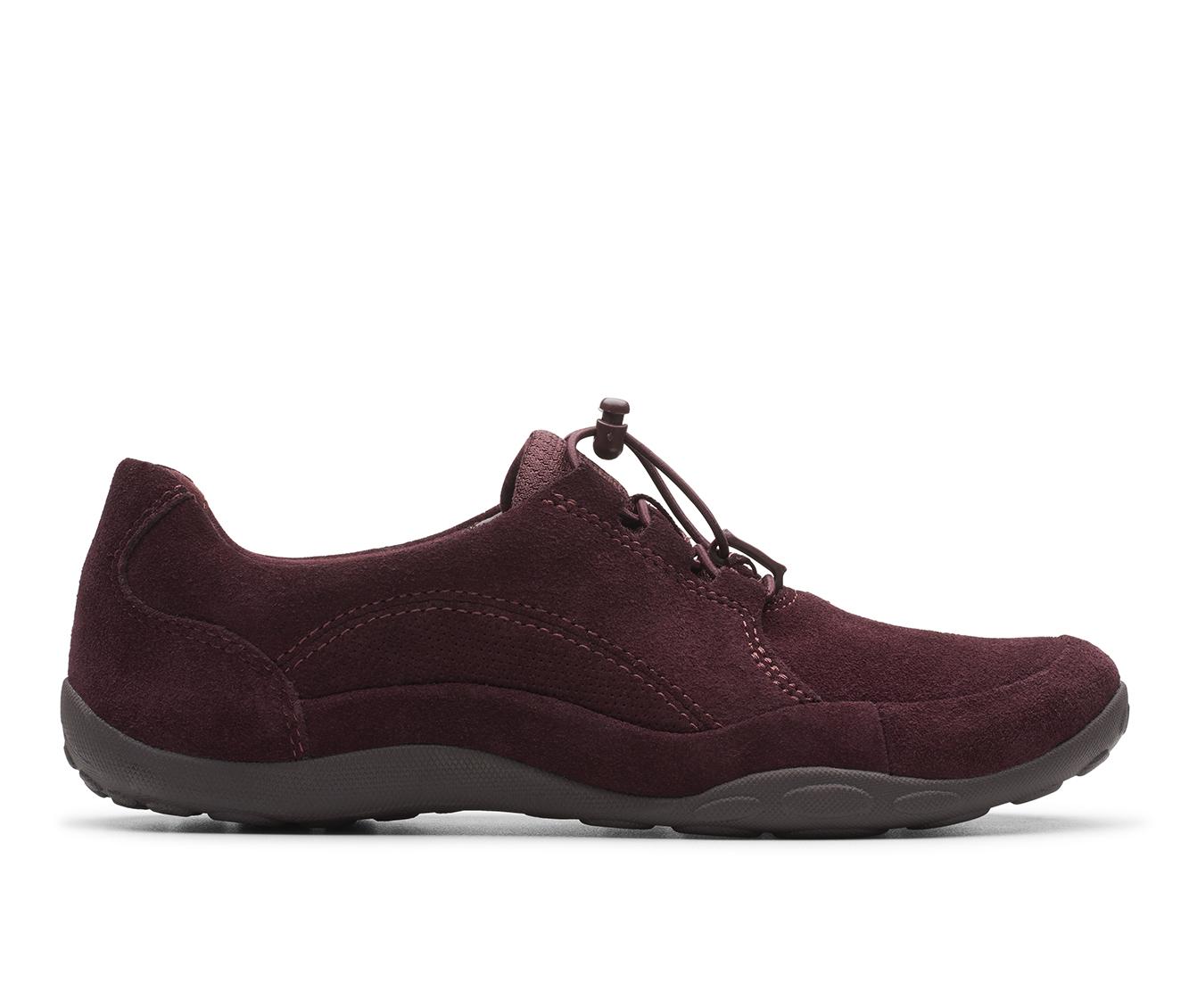 Clarks Haley Rhea Women's Shoe (Red Suede)