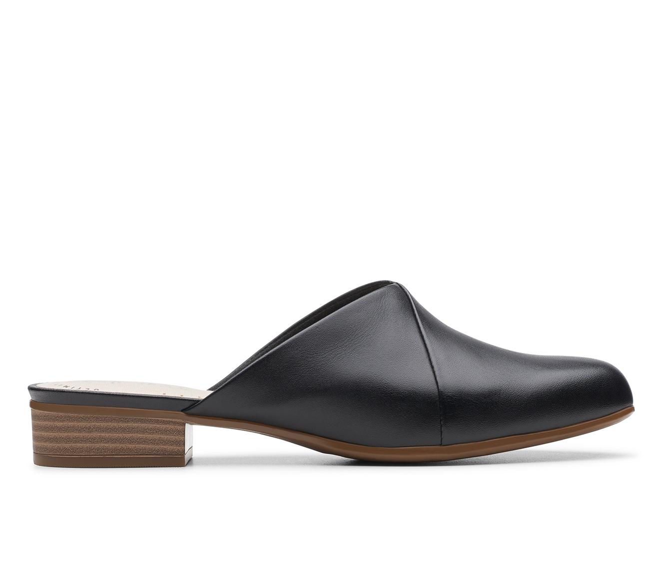Clarks Juliet Willow Women's Shoe (Black Leather)