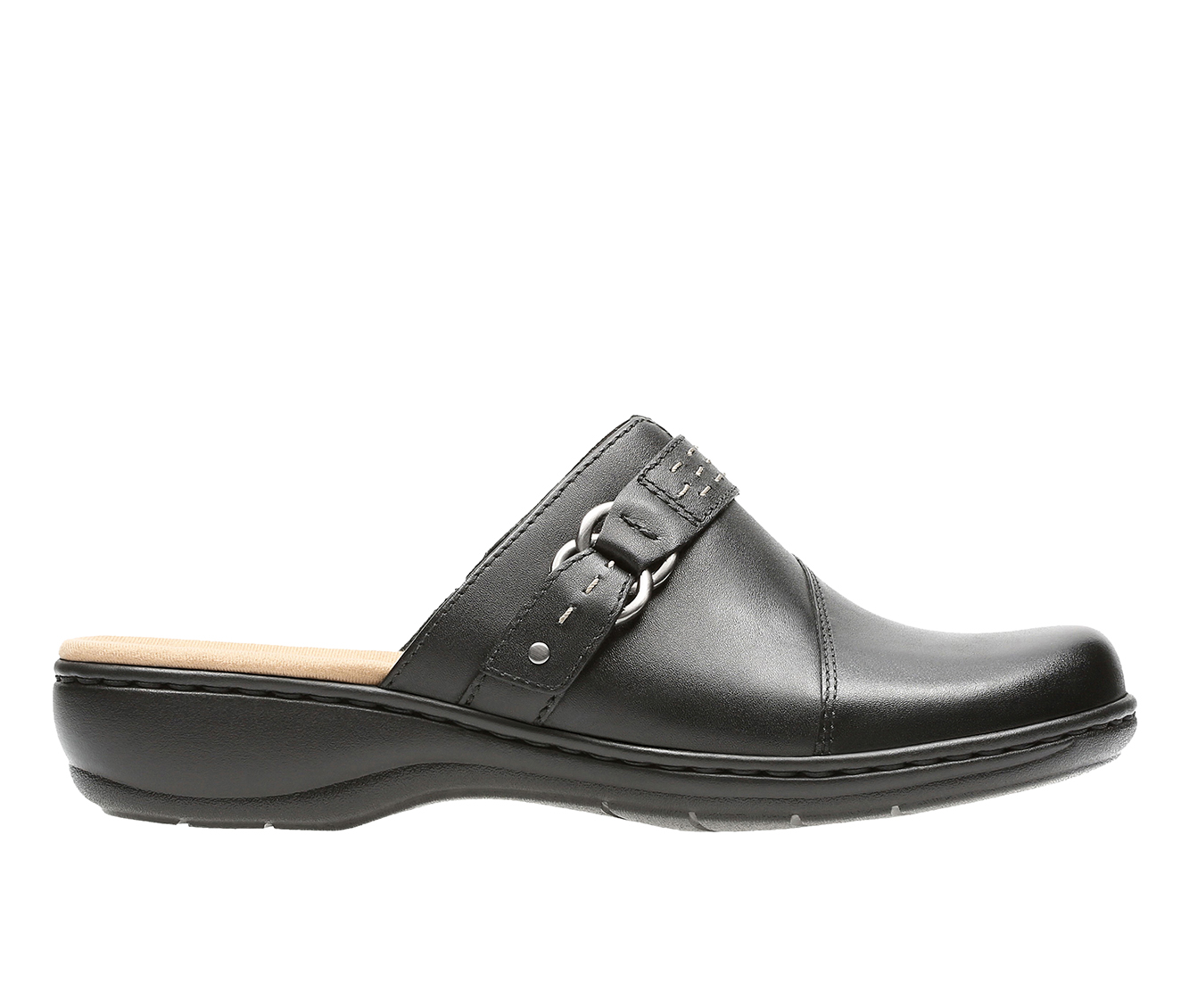 Clarks Leisa Sadie Women's Shoe (Black Leather)