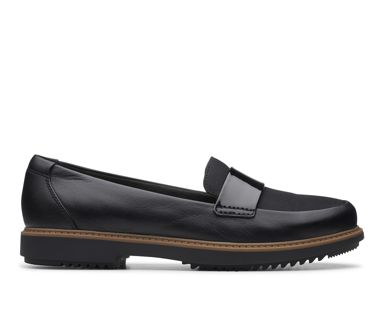 Clarks Raisie Arlie Women's Shoe (Black Leather)