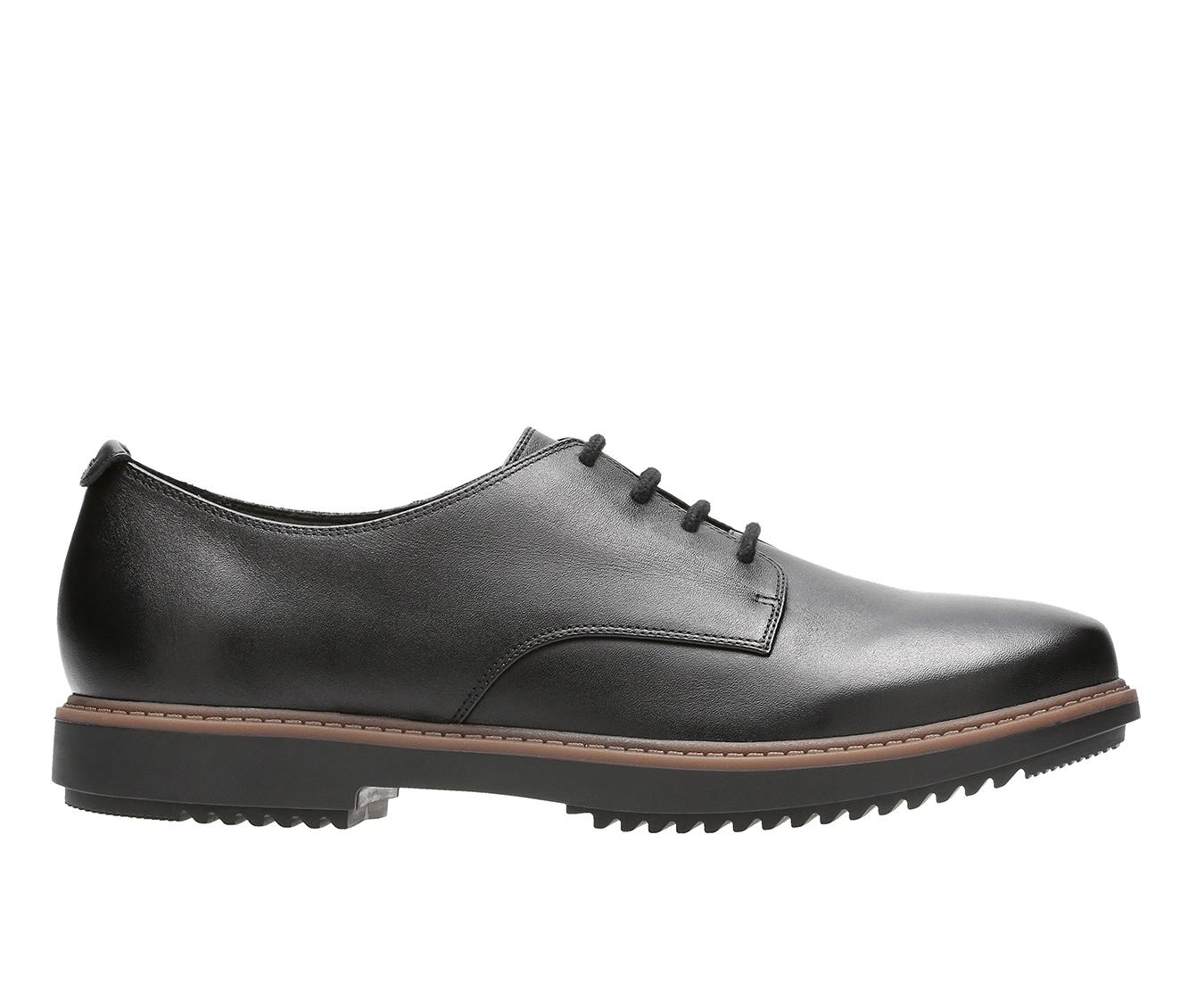 Clarks Raisie Bloom Women's Shoe (Black Leather)