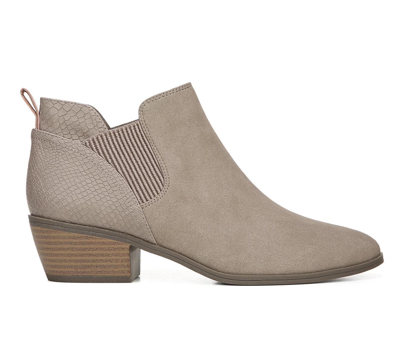 Dr. Scholls Bella Women's Boots (Gray - Faux Leather)