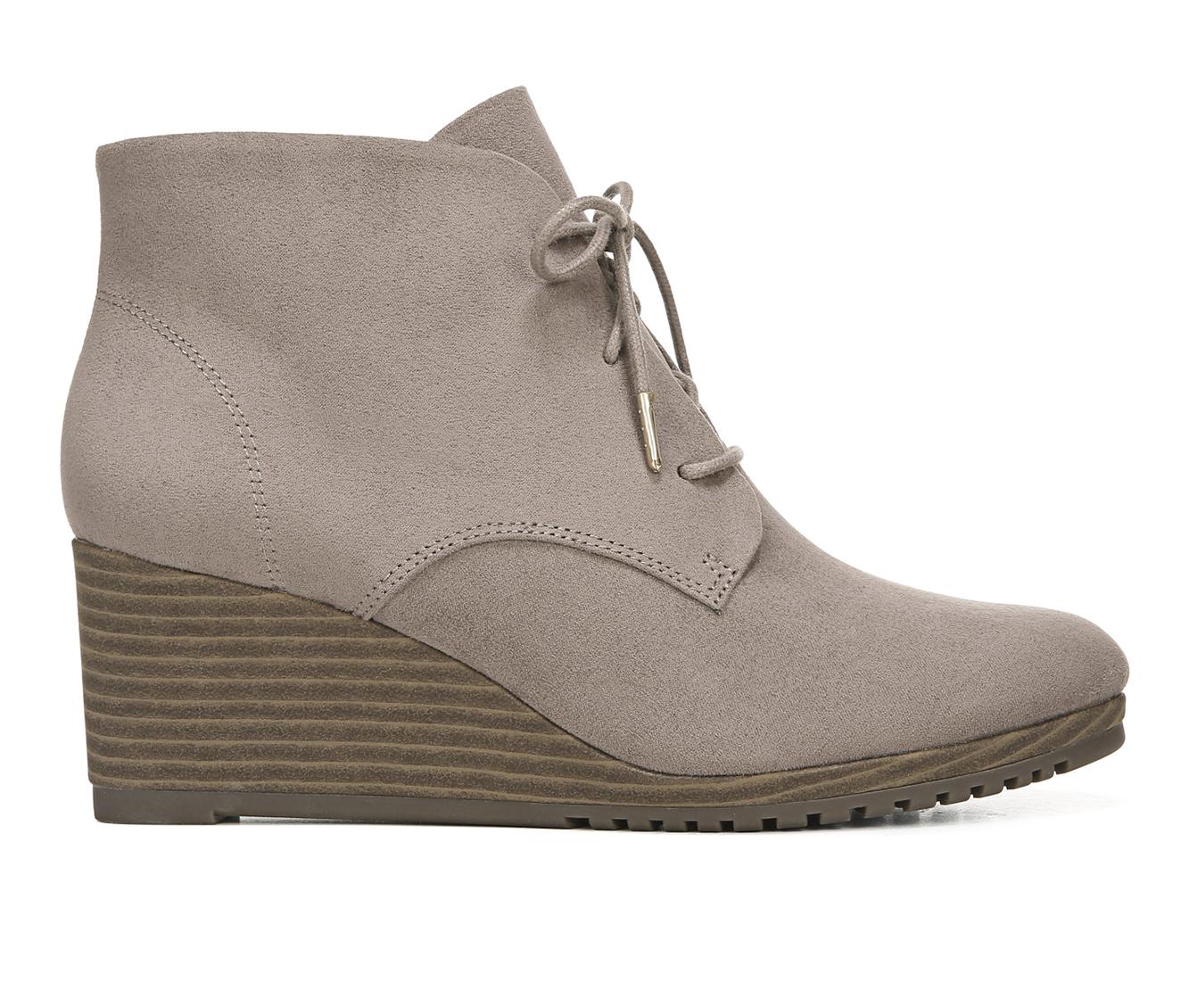 Dr. Scholls Ceelia Women's Boot (Gray Canvas)