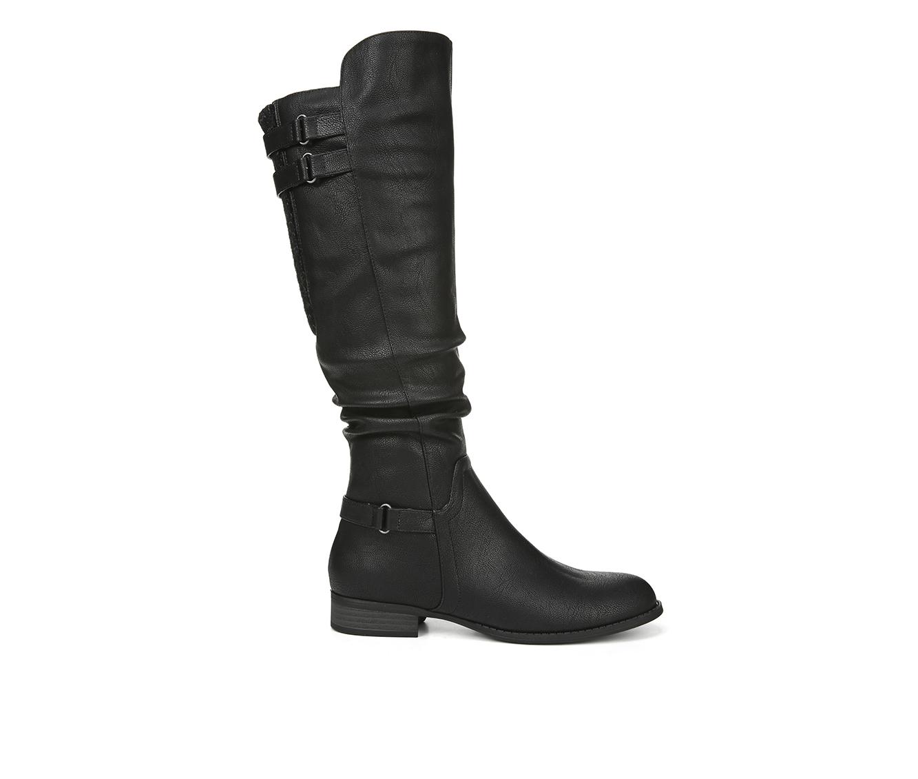 LifeStride Faunia Women's Boots (Black - Faux Leather)