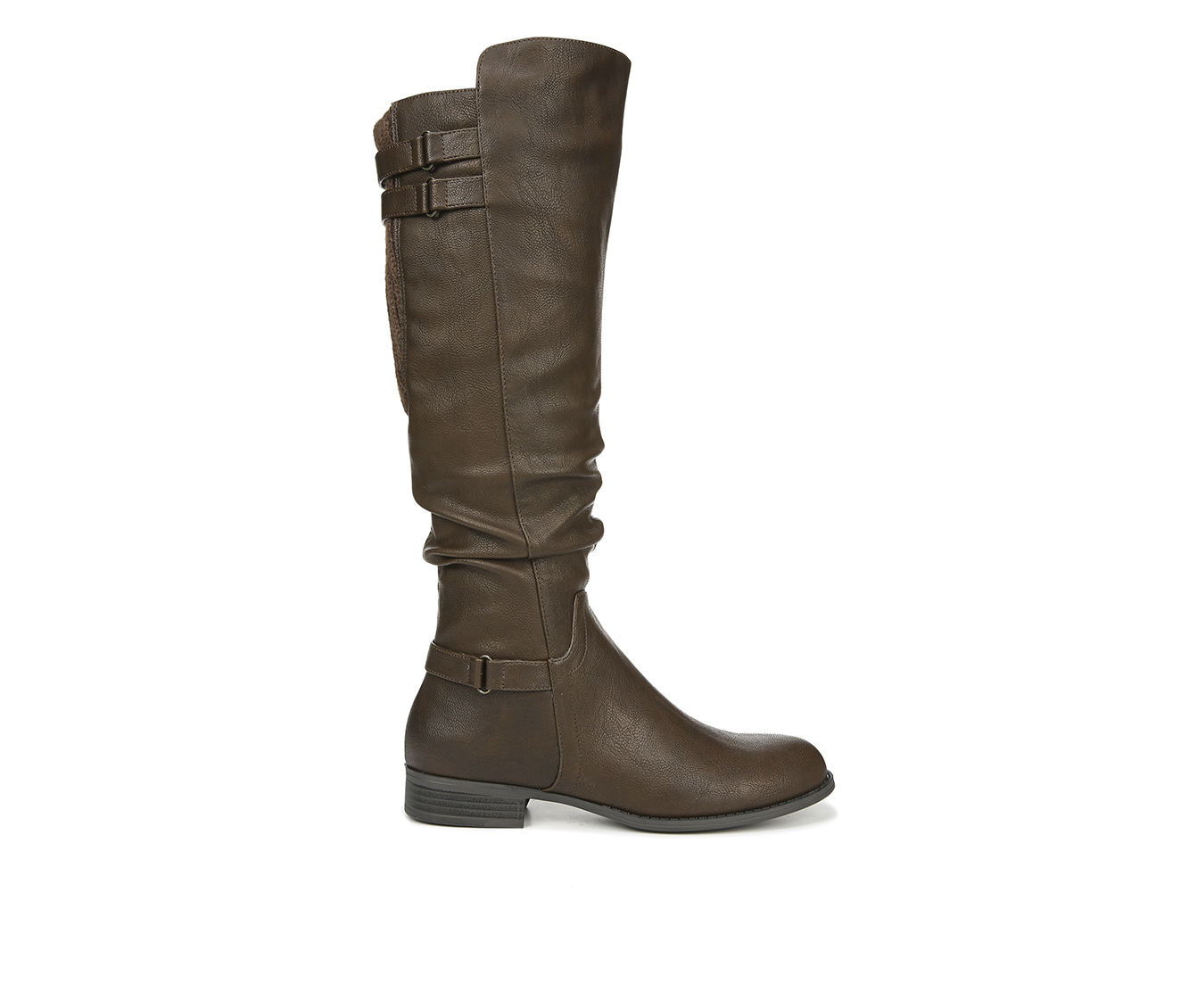 LifeStride Faunia Women's Boots (Brown - Faux Leather)
