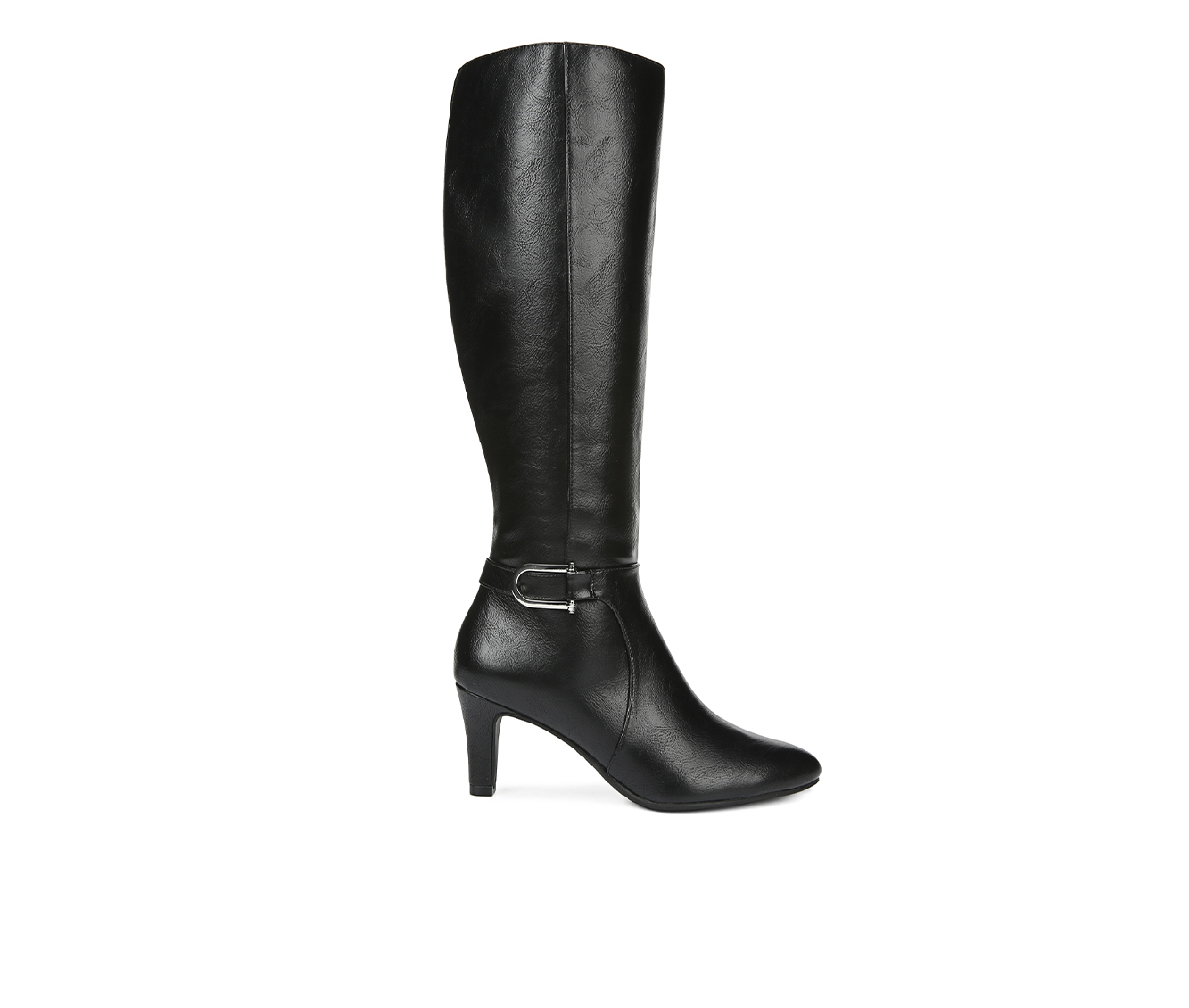 LifeStride Galina Women's Boots (Black - Faux Leather)