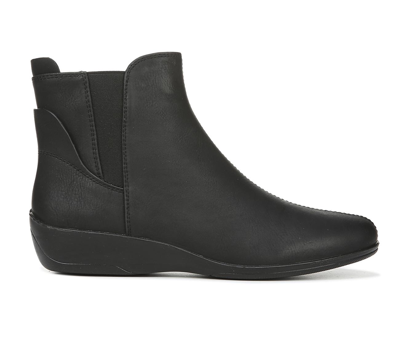 LifeStride Izzy Women's Boots (Black - Faux Leather)