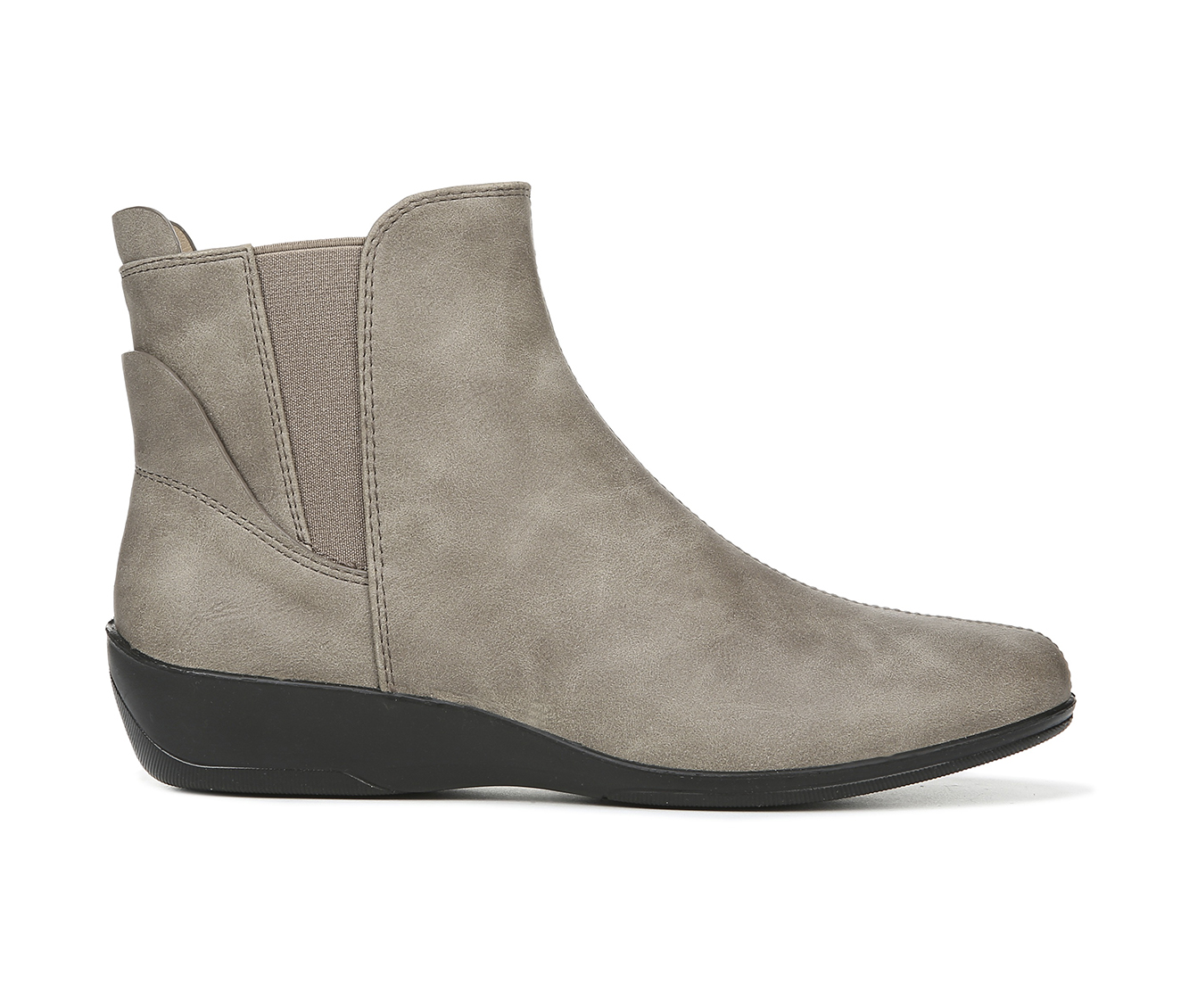 LifeStride Izzy Women's Boot (Gray Faux Leather)