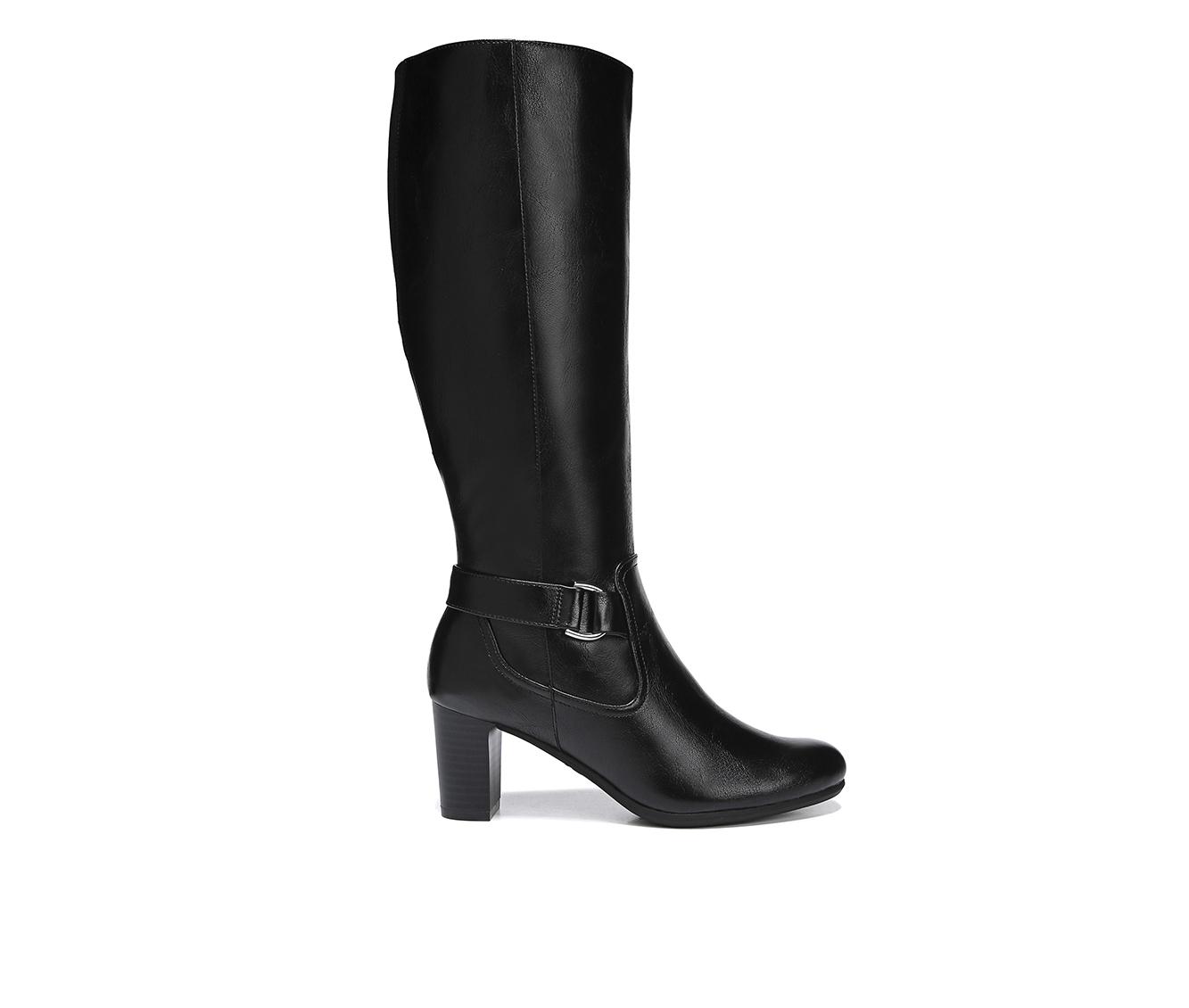 LifeStride Marta Women's Boots (Black - Faux Leather)