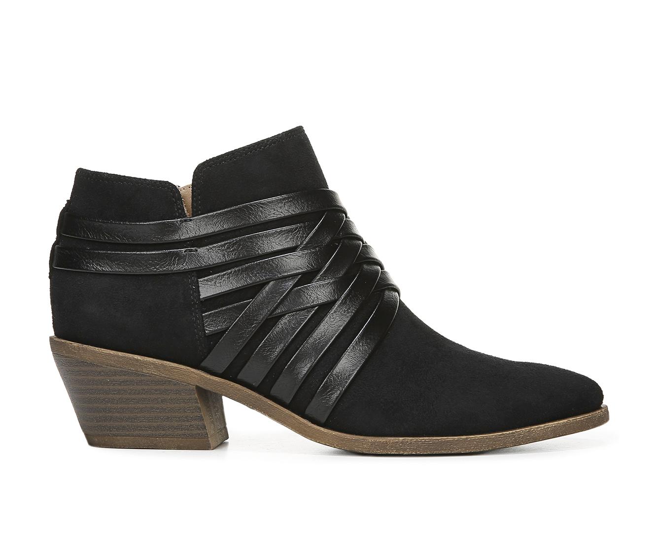 LifeStride Prairie Women's Boots (Black - Faux Leather)