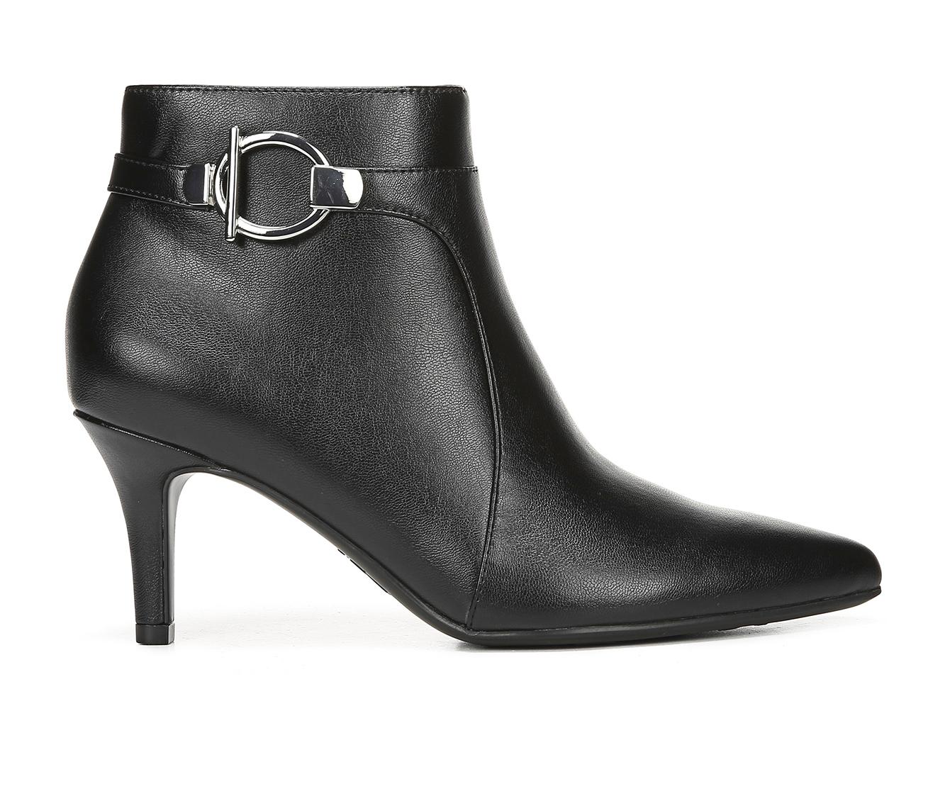 LifeStride Samara Women's Boots (Black - Faux Leather)
